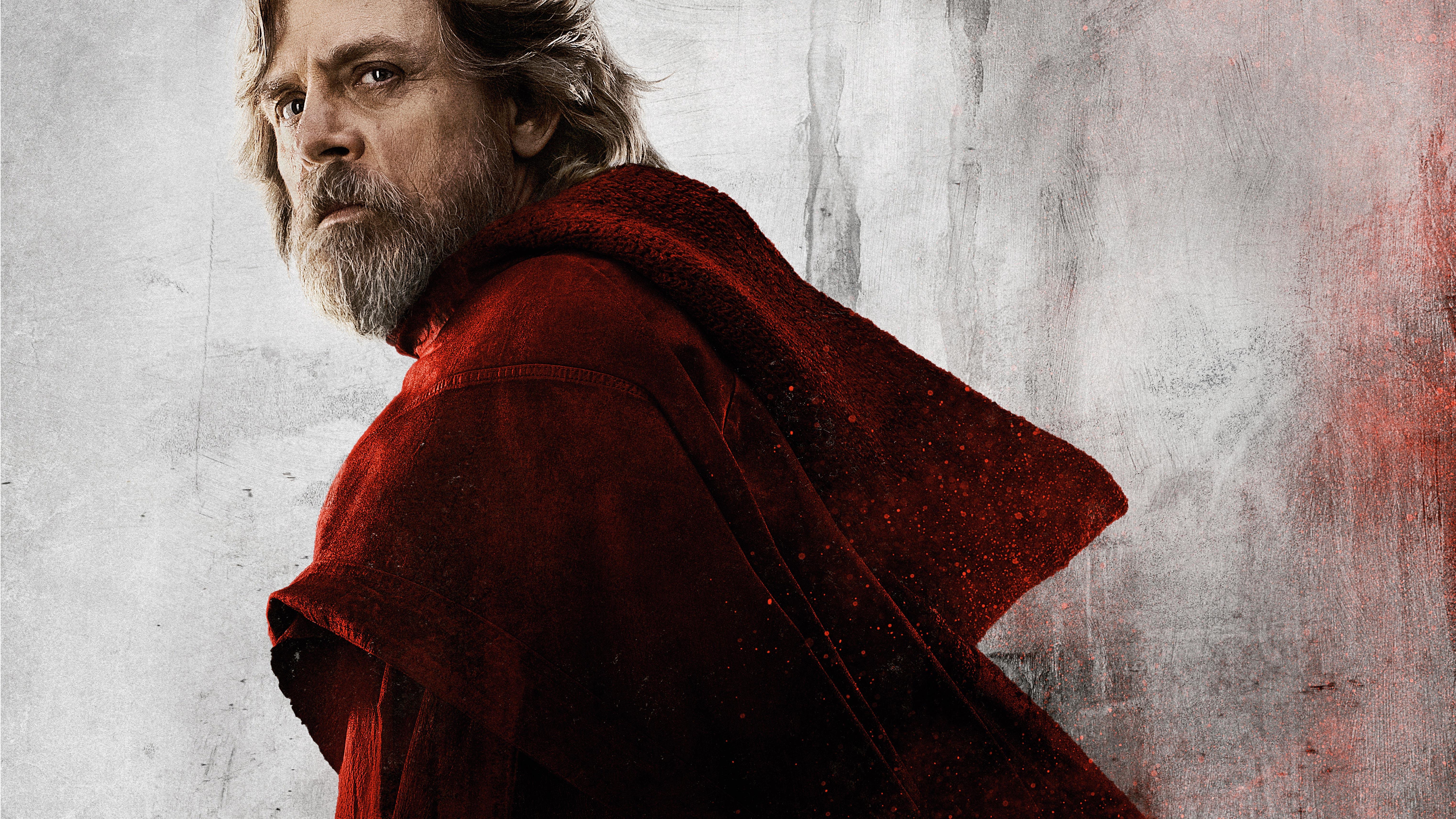 Star Wars The Last Jedi Desktop Wallpaper: Luke Skywalker Star Wars The Last Jedi, HD Movies, 4k