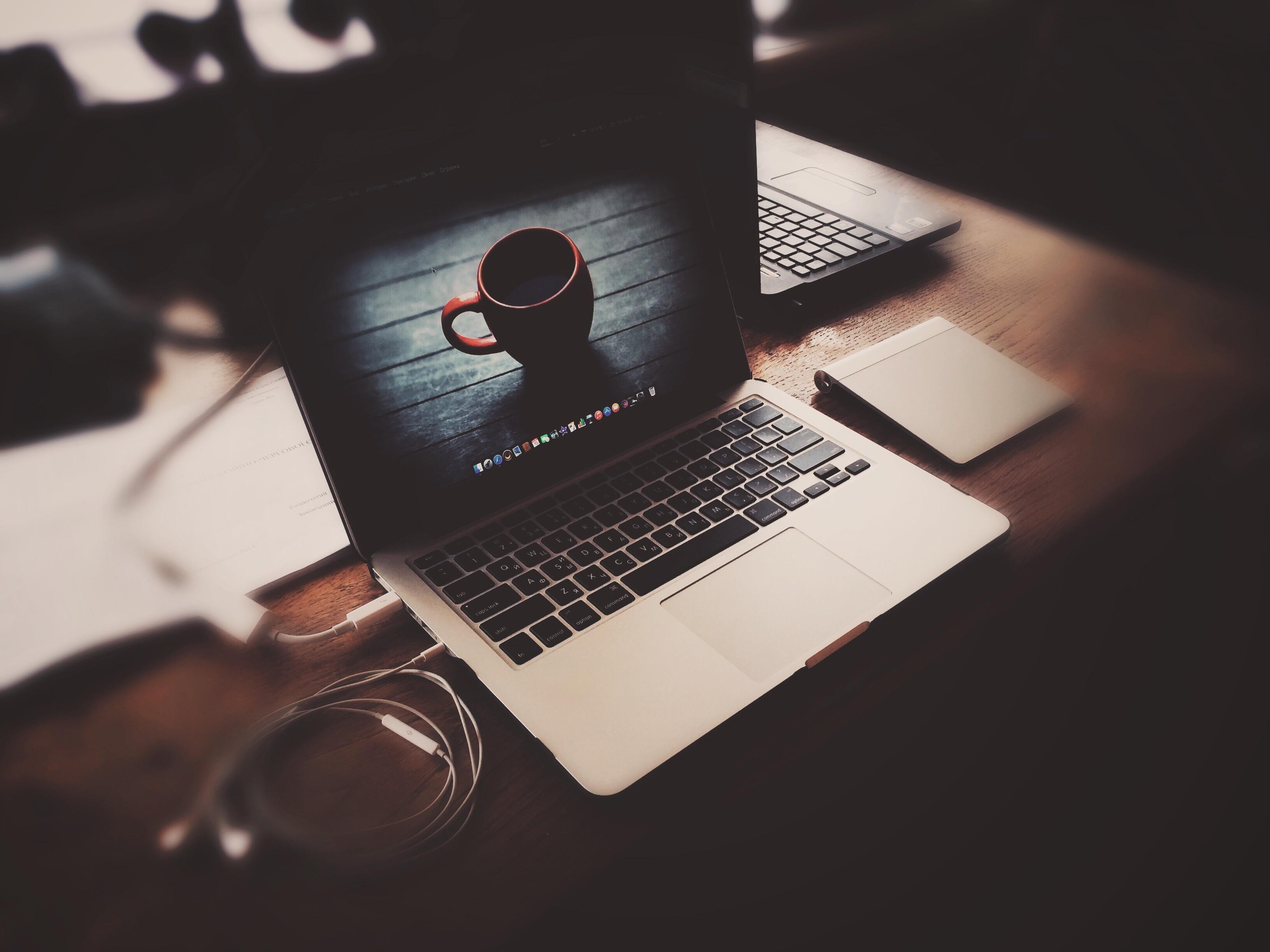 Macbook Pro Apple Laptop Headphones, HD Computer, 4k