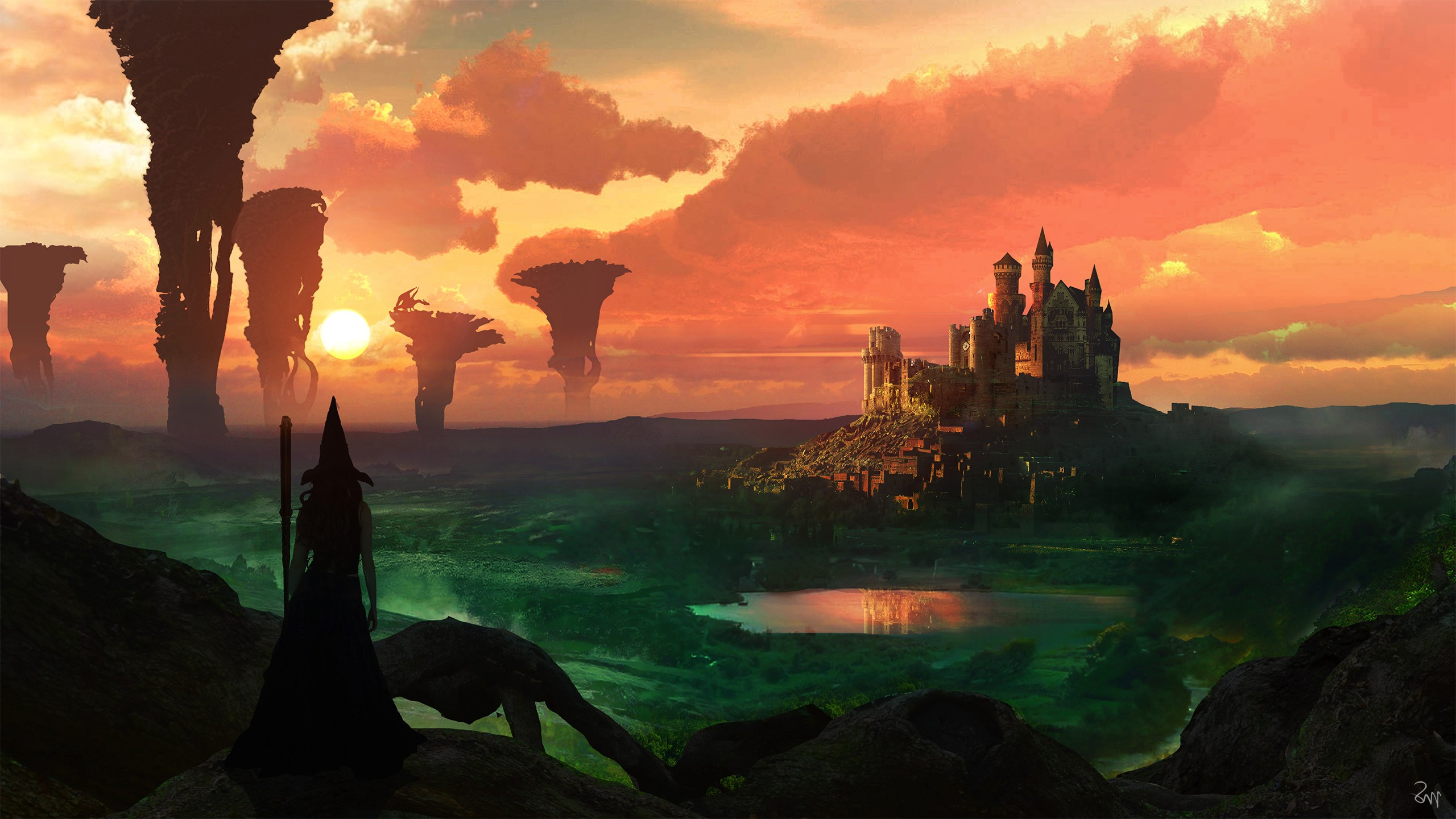 Magical Witch Castle Hd Graphics 4k Wallpapers Images