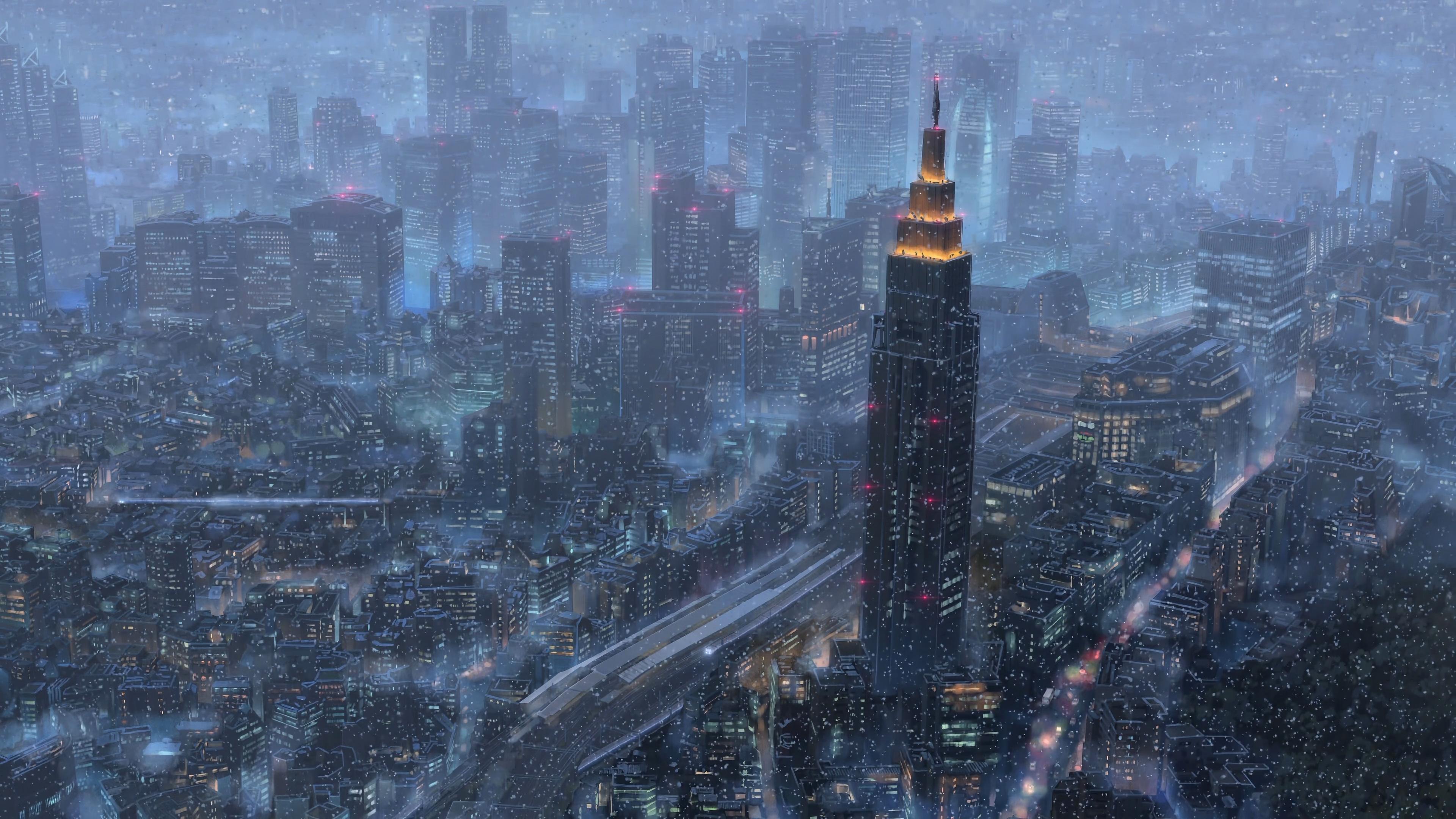 Makoto Shinkai Kimi No Na Wacityscape 4k, HD Artist, 4k