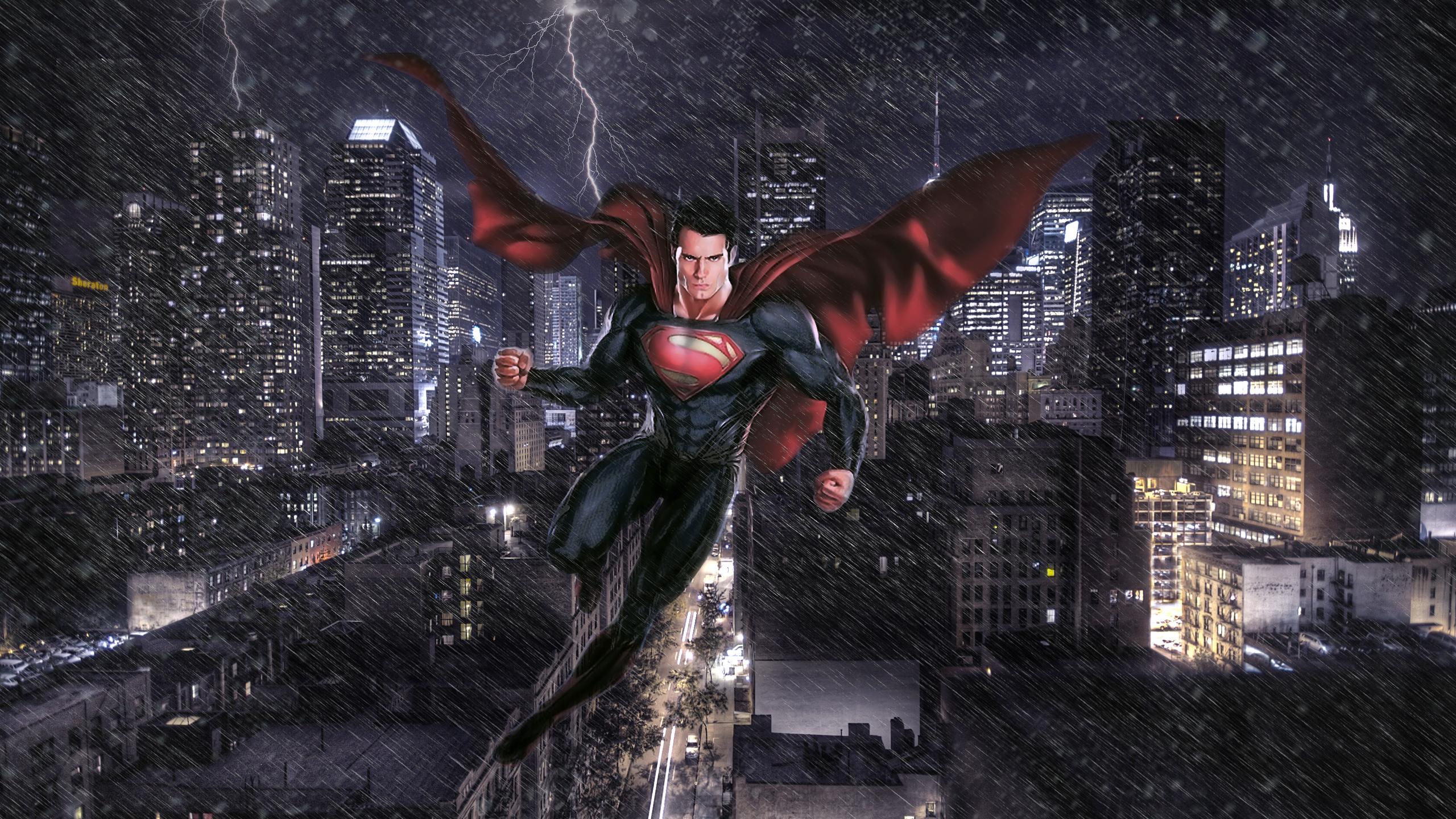Man Of Steel Art Hd Superheroes 4k Wallpapers Images Backgrounds