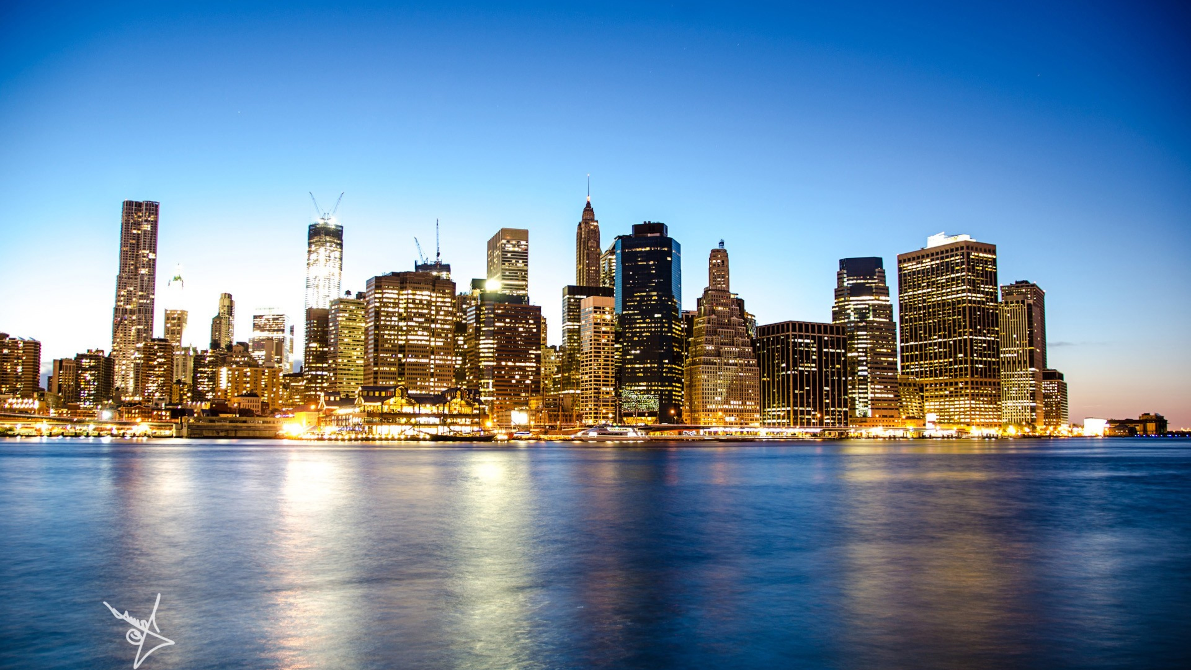 Manhattan Skyline, HD ...Q Sports Logo