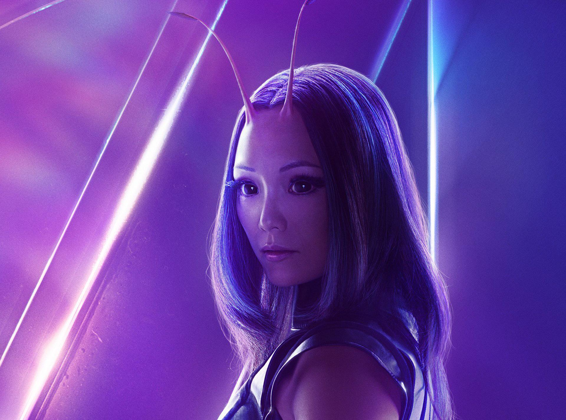Shuri In Avengers Infinity War New Poster Hd Movies 4k: 1920x1080 Mantis In Avengers Infinity War New Poster