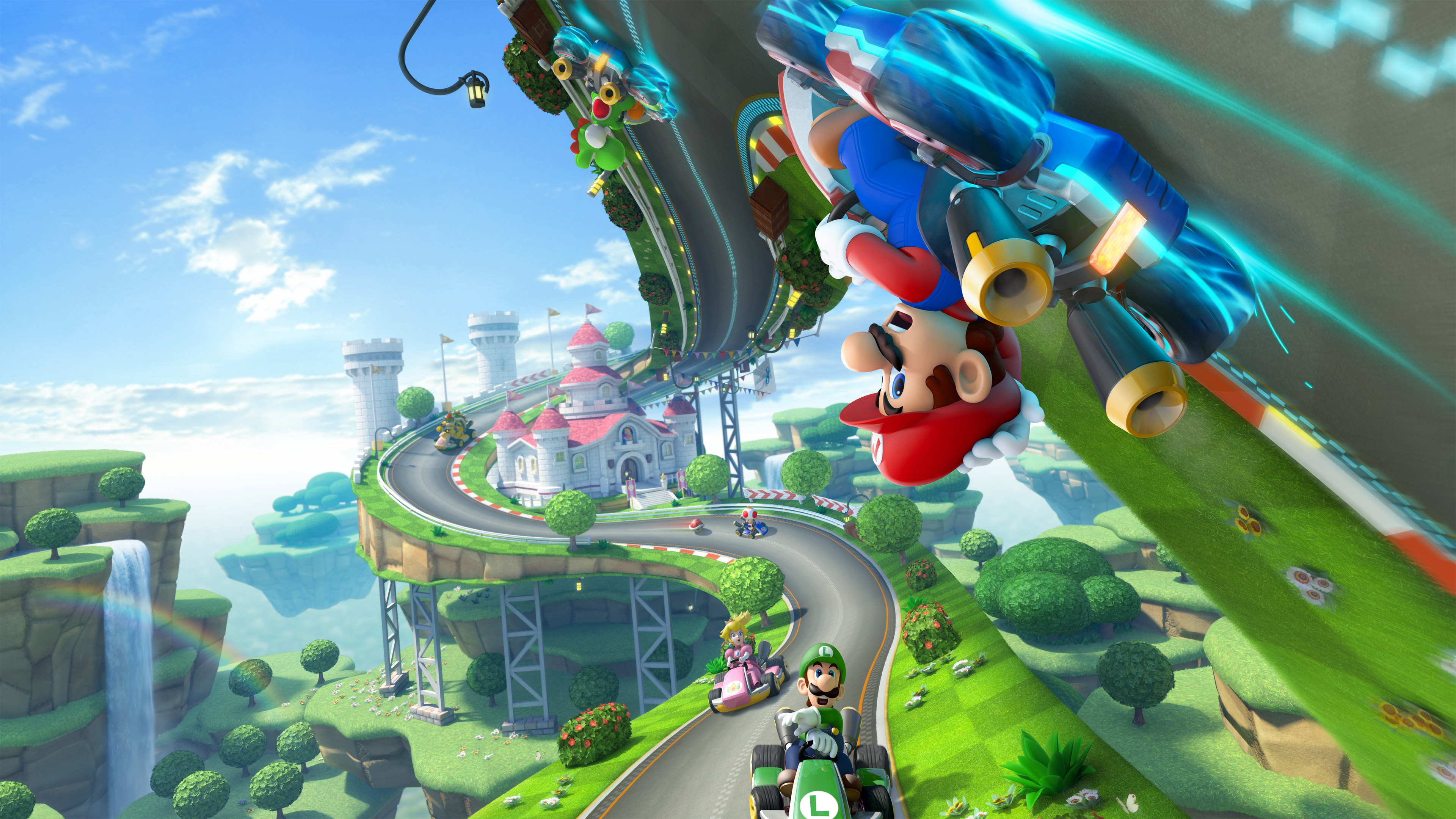 mario kart 8, hd games, 4k wallpapers, images, backgrounds, photos