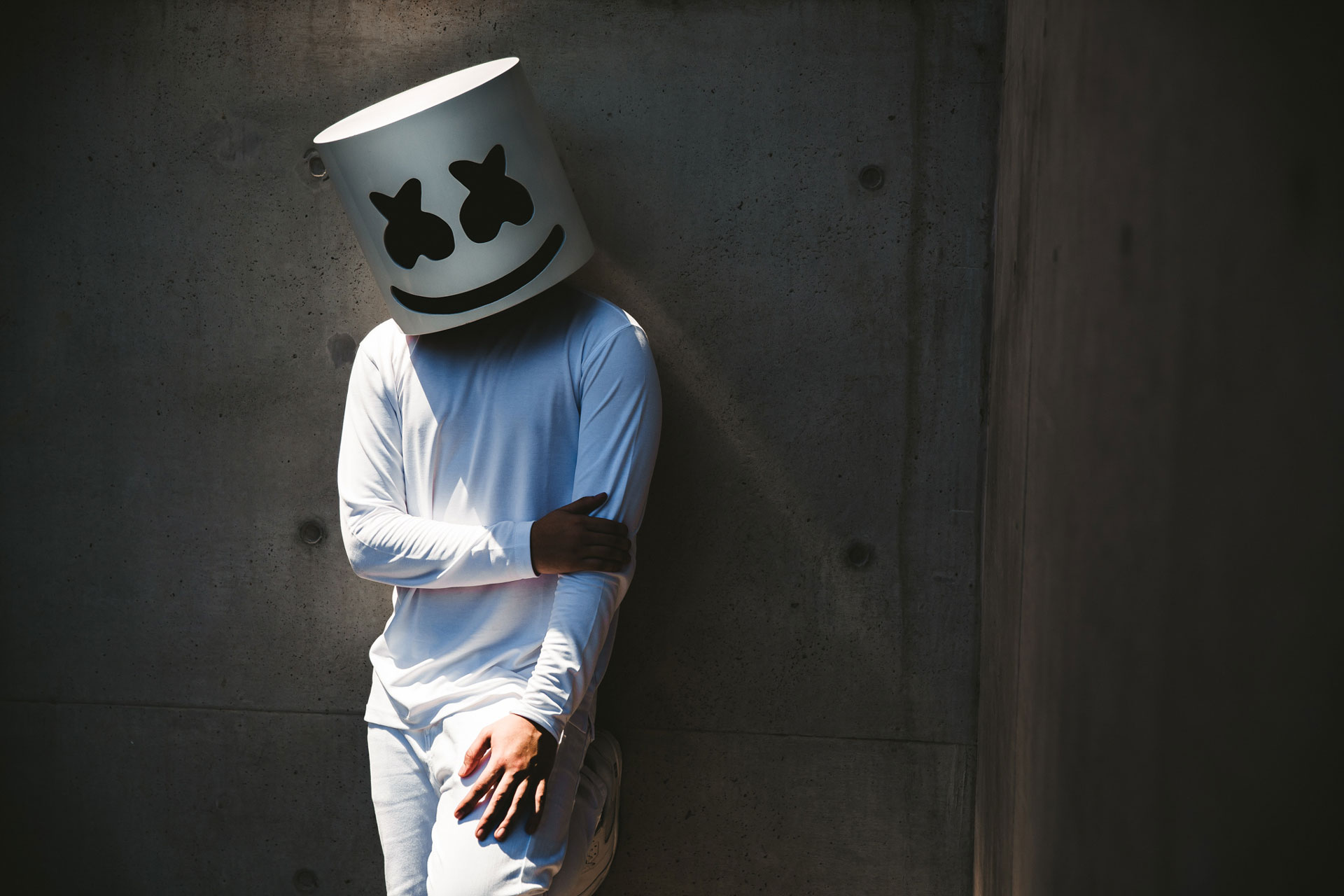 1280x720 Marshmello 720p Hd 4k Wallpapers Images Backgrounds