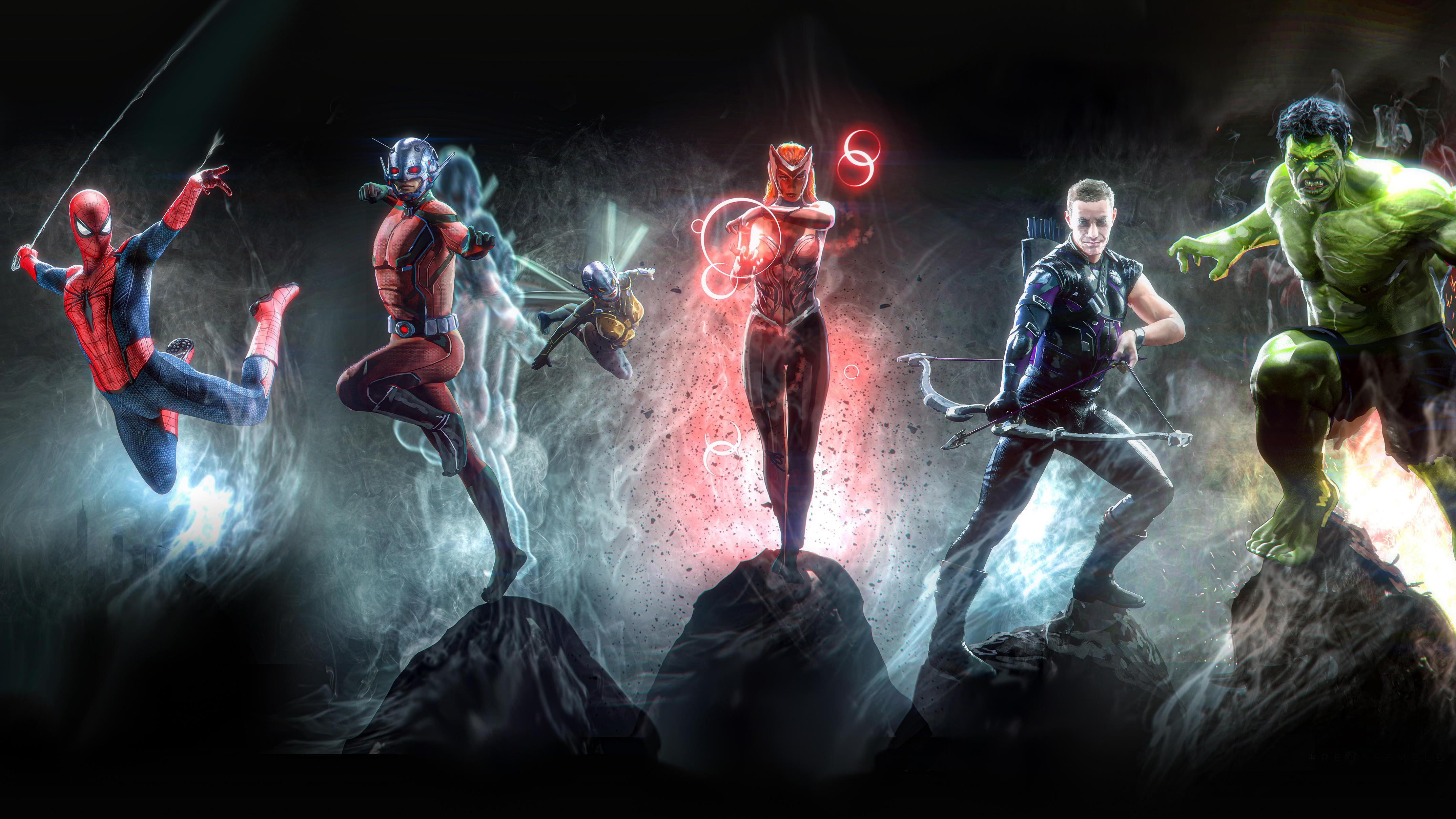 Marvel 4k Artwork, HD Superheroes, 4k Wallpapers, Images ...