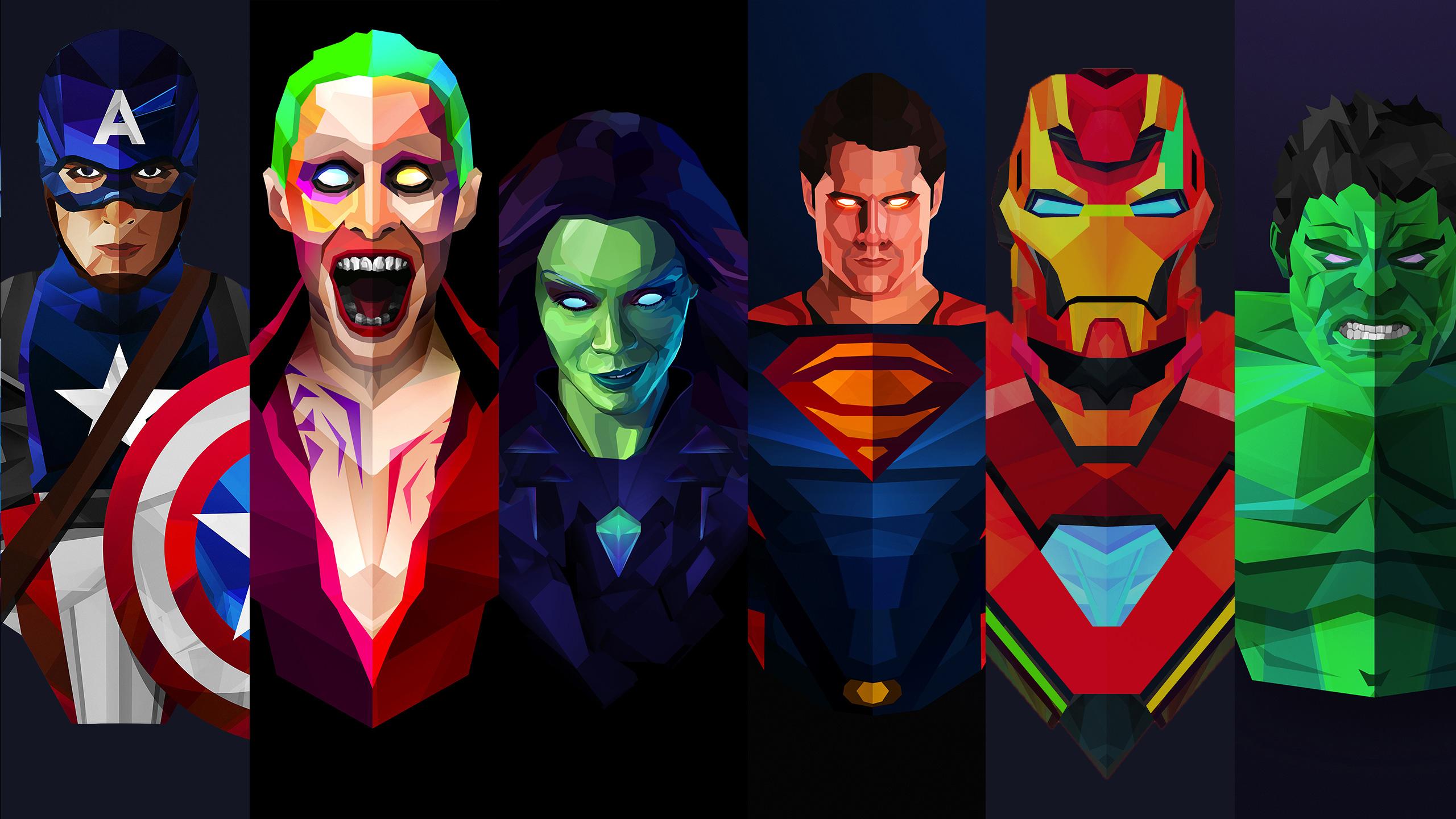 Marvel And Dc Artwork, HD Superheroes, 4k Wallpapers ...