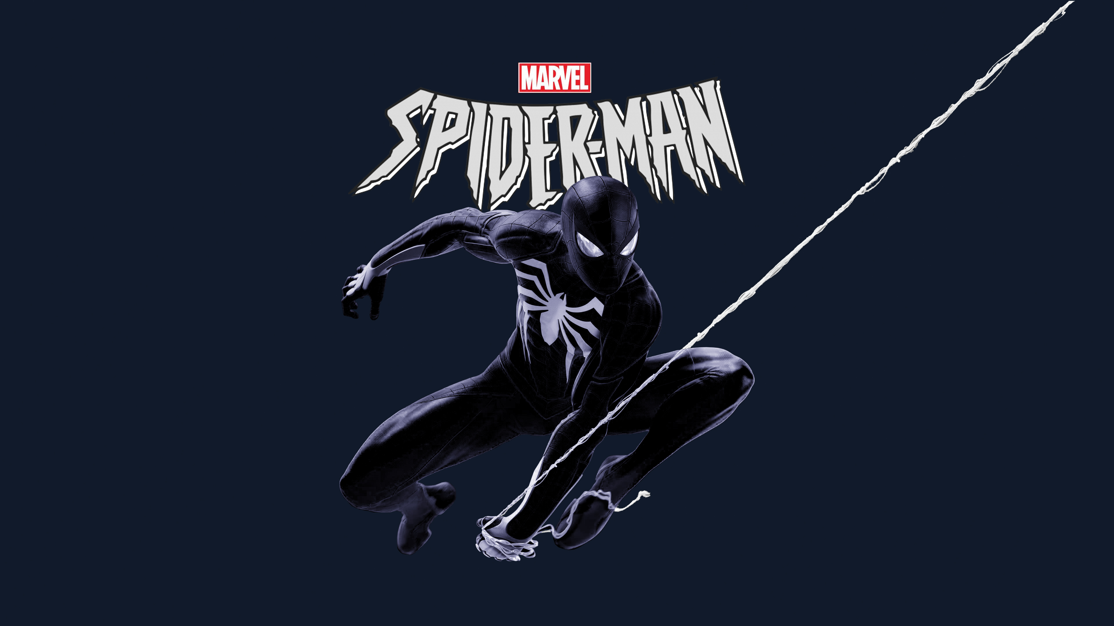 Marvel Black Spiderman 4k, HD Superheroes, 4k Wallpapers ...