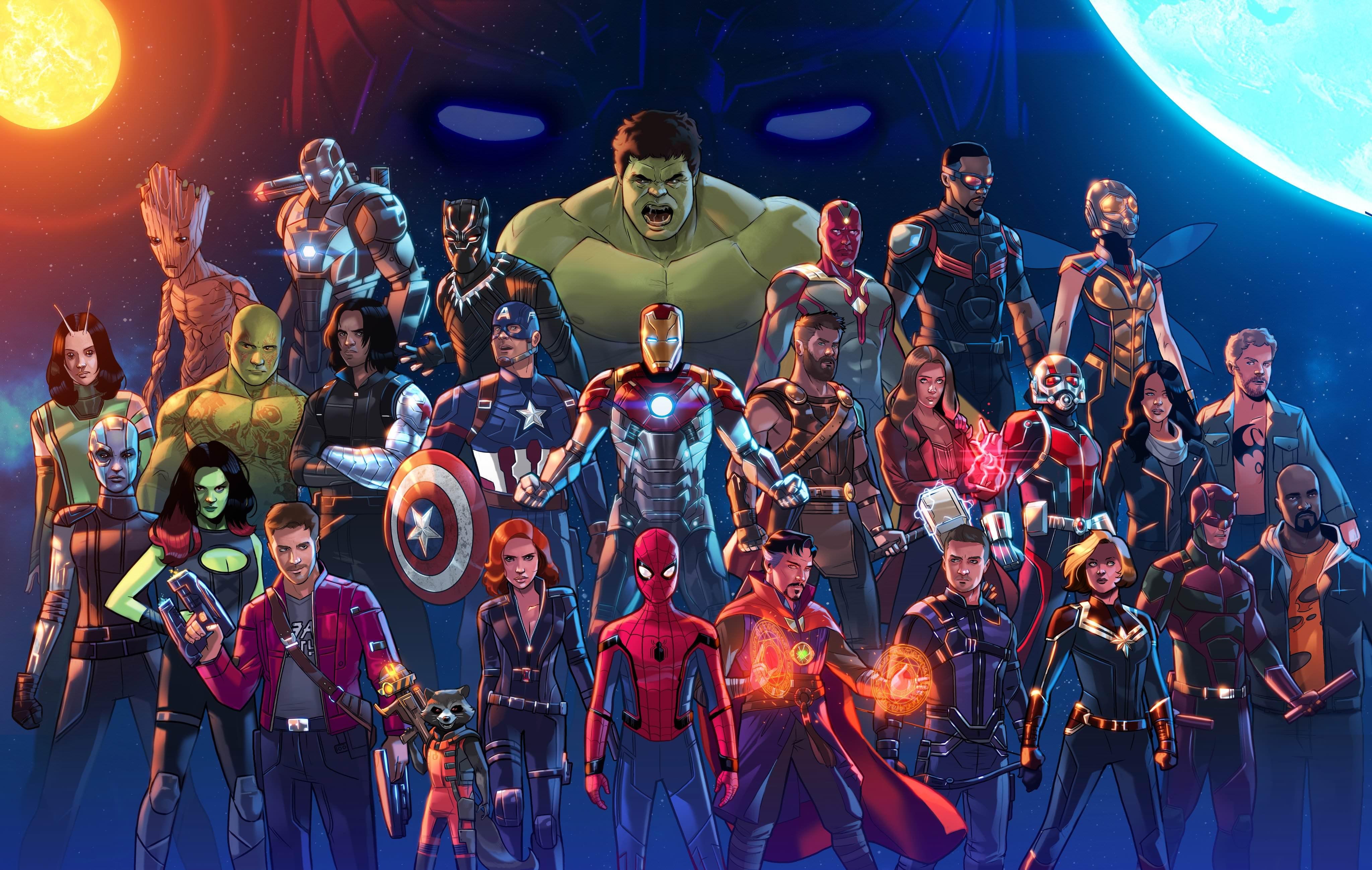 Marvel cinematic universe artwork5k hd superheroes 4k wallpapers images backgrounds photos - Marvel hd wallpapers 4k ...