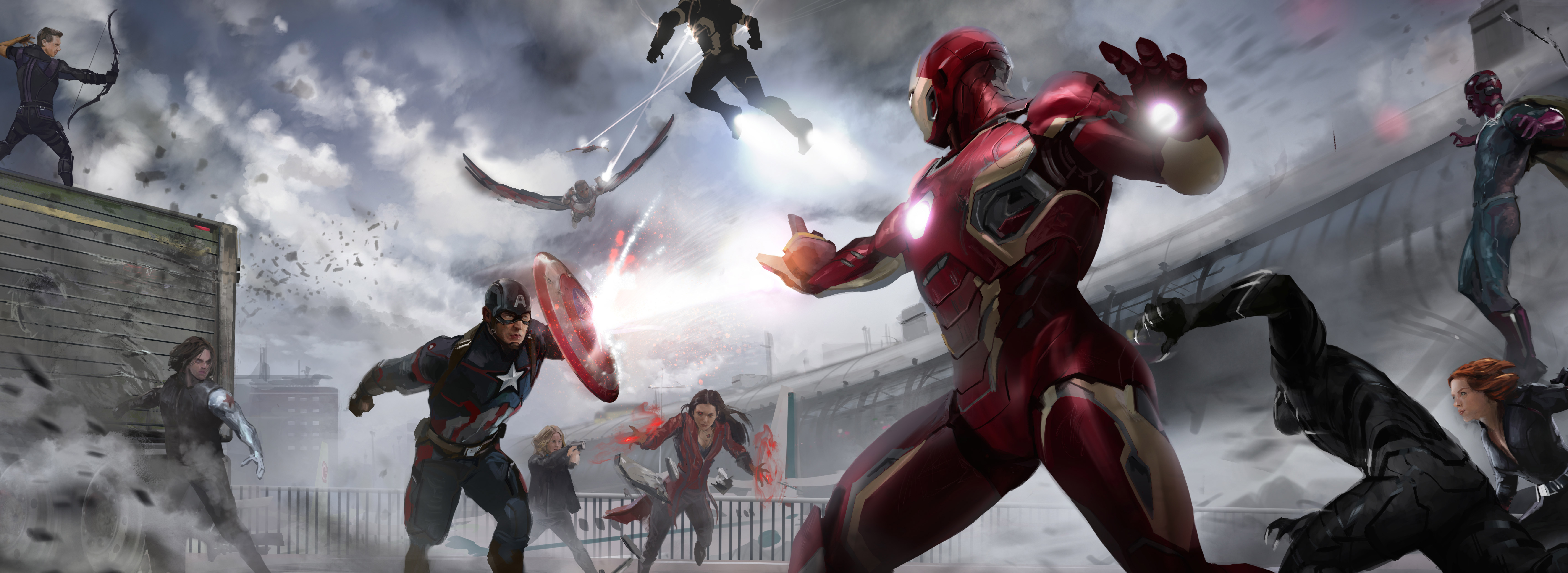 marvel civil war artwork hd movies 4k wallpapers images backgrounds photos and pictures. Black Bedroom Furniture Sets. Home Design Ideas