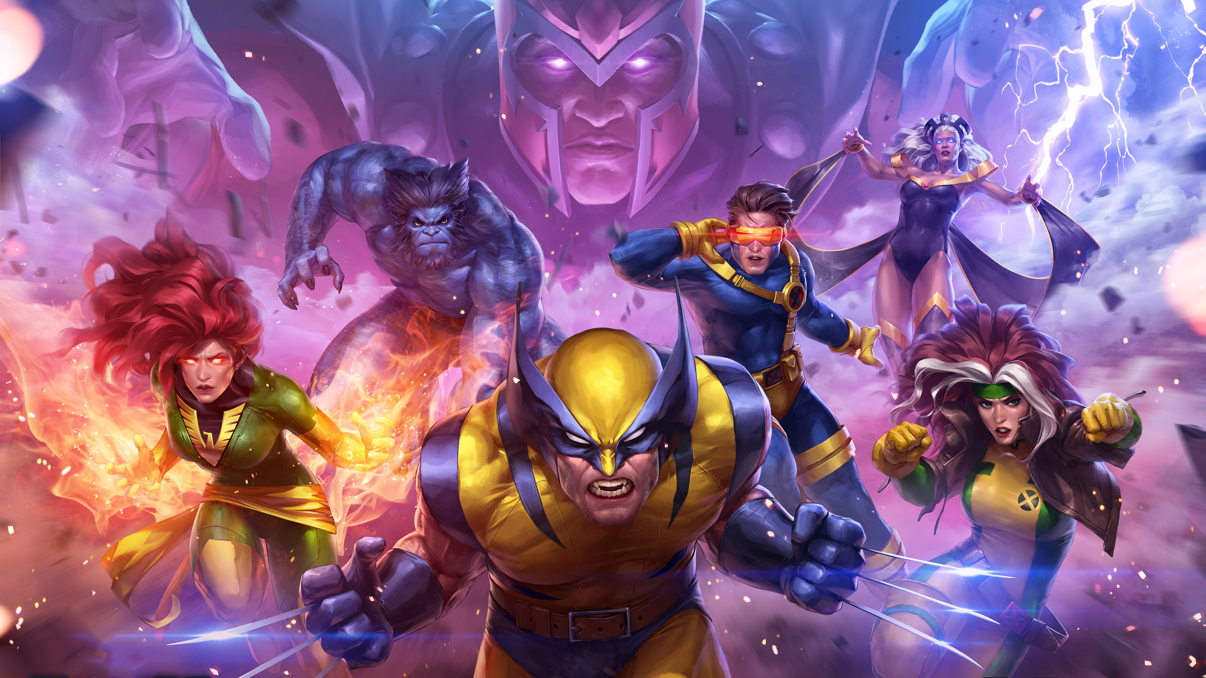3840x2160 marvel contest of champions x men 4k hd 4k wallpapers images backgrounds photos and - Marvel hd wallpapers 4k ...