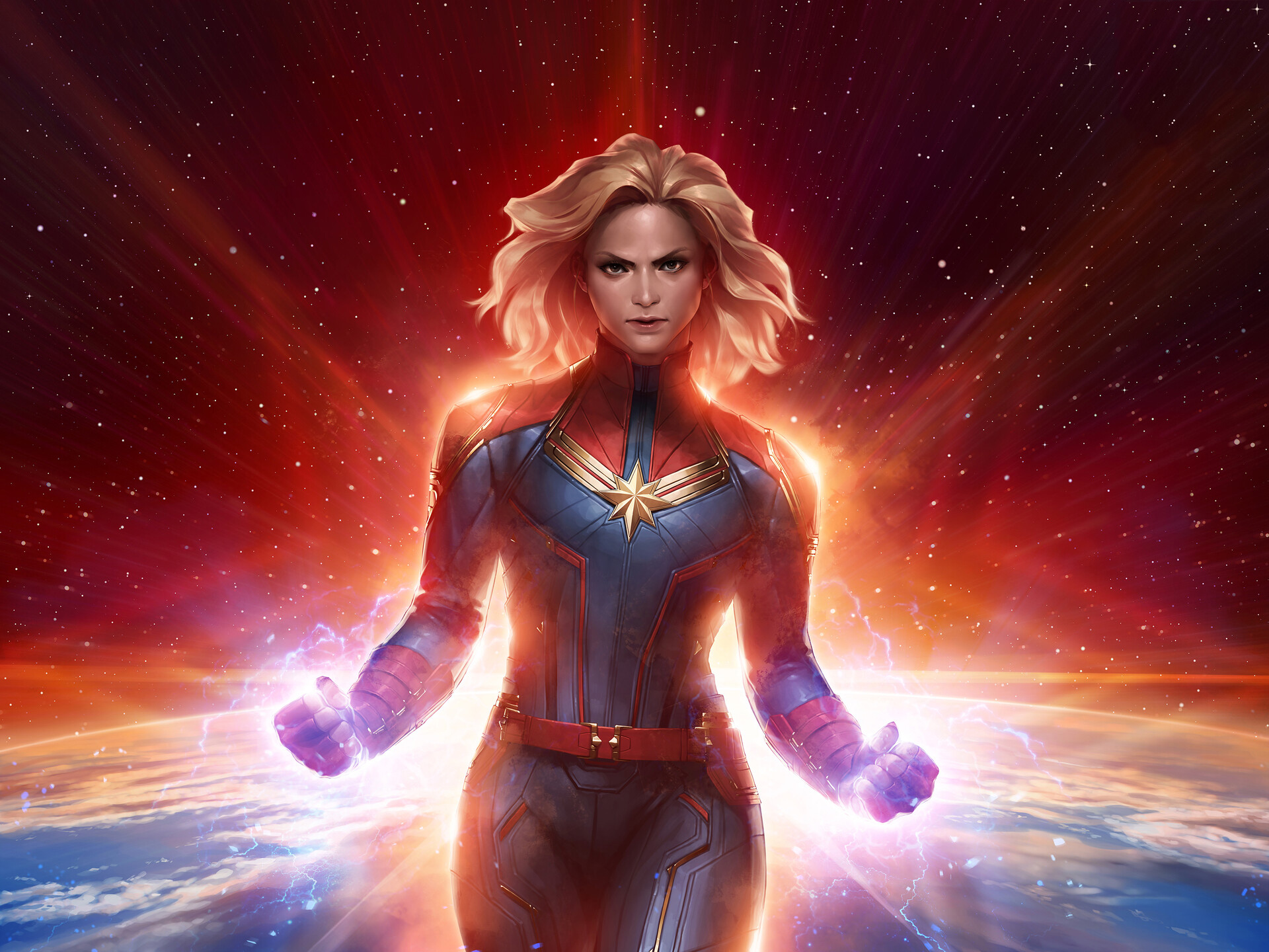 Marvel Future Fight Captain Marvel Hd Games 4k Wallpapers