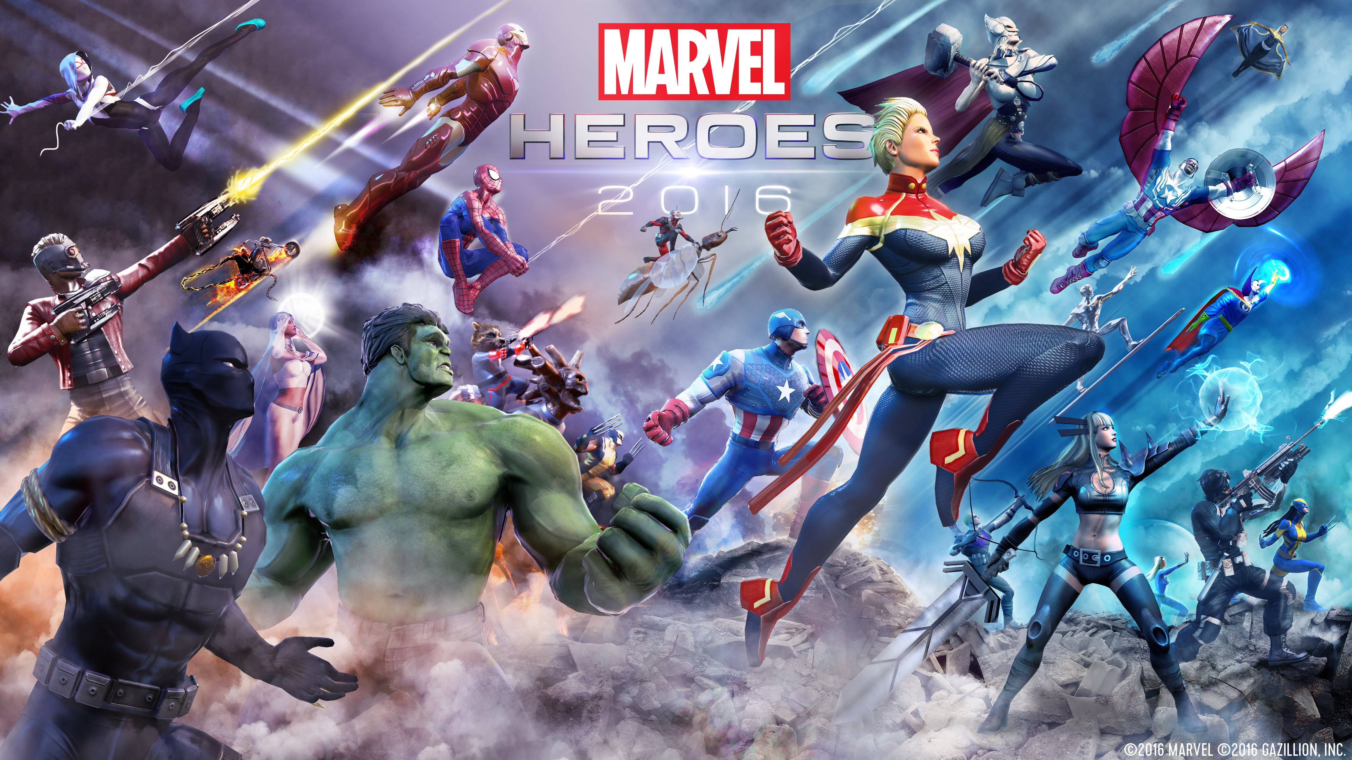 CIVIL WAR Comes To MARVEL HEROES 2016 Game