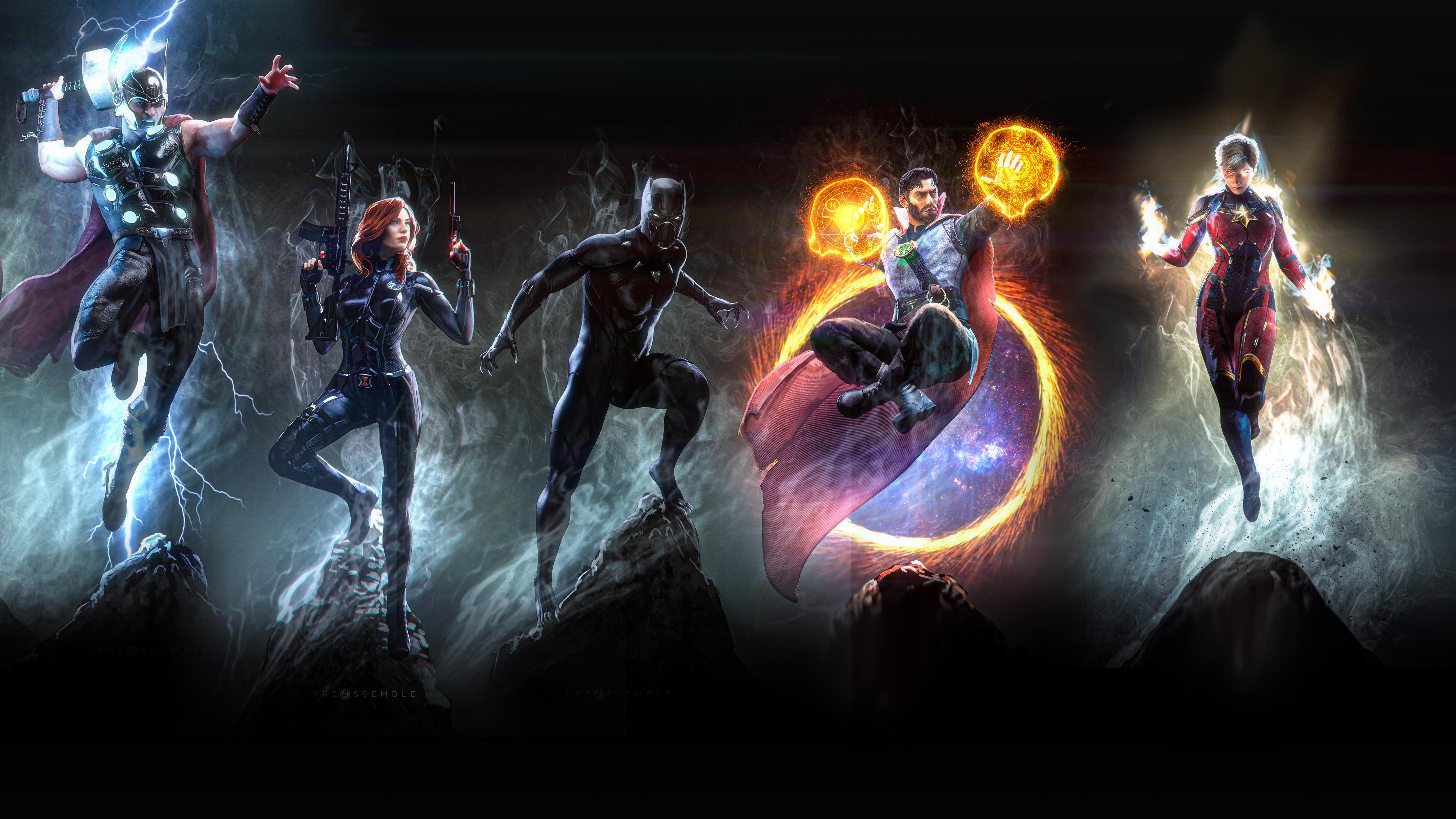 Marvel Heroes 4k Art, HD Superheroes, 4k Wallpapers ...