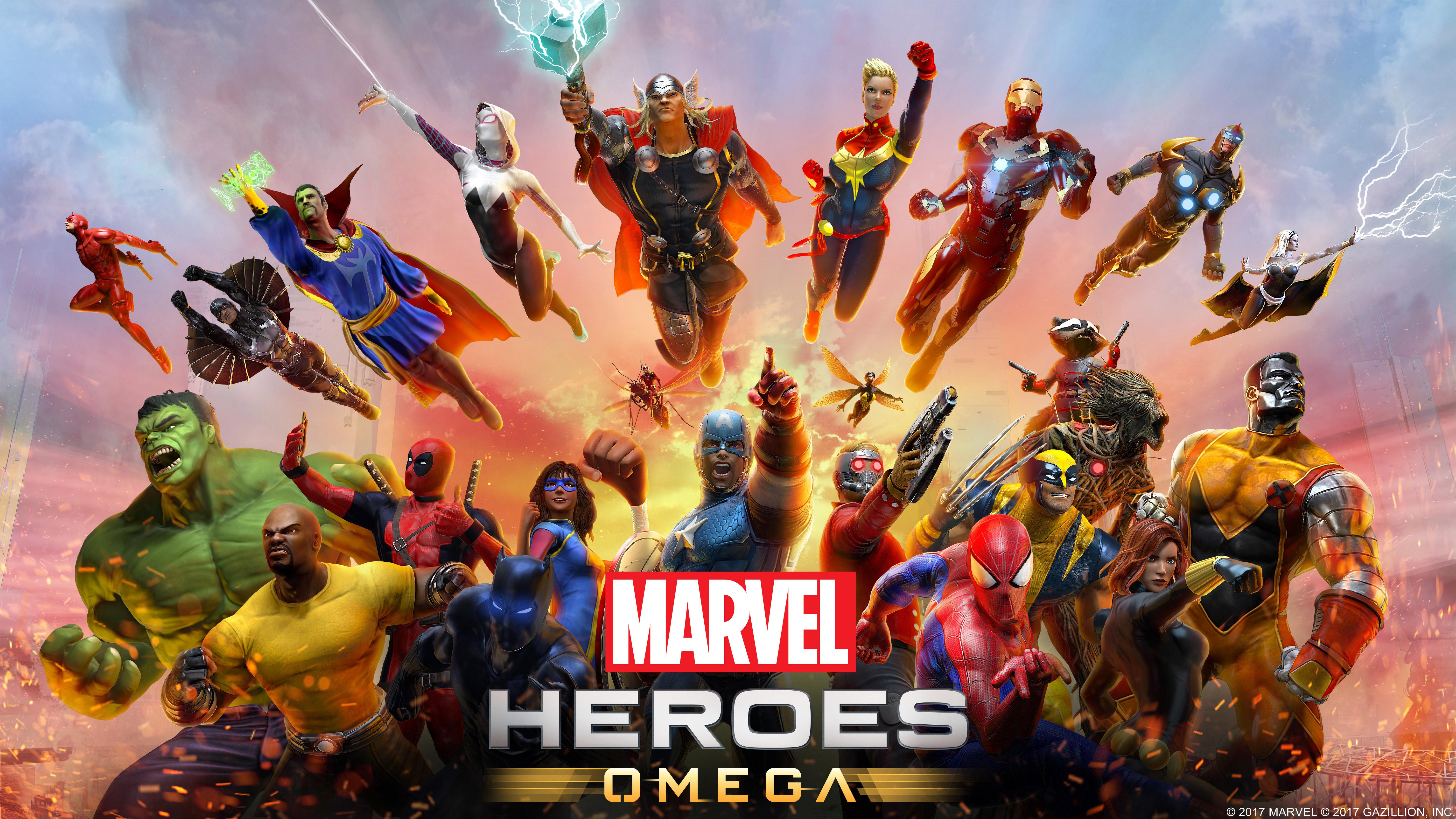 Marvel Heroes Omega HD Games 4k Wallpapers Images Backgrounds