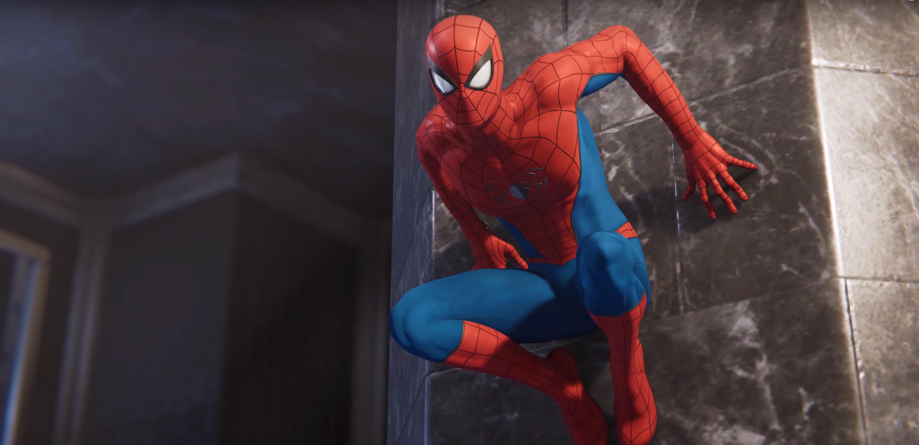 Marvel Spiderman Classic Suit Ps4 Hd Games 4k Wallpapers Images