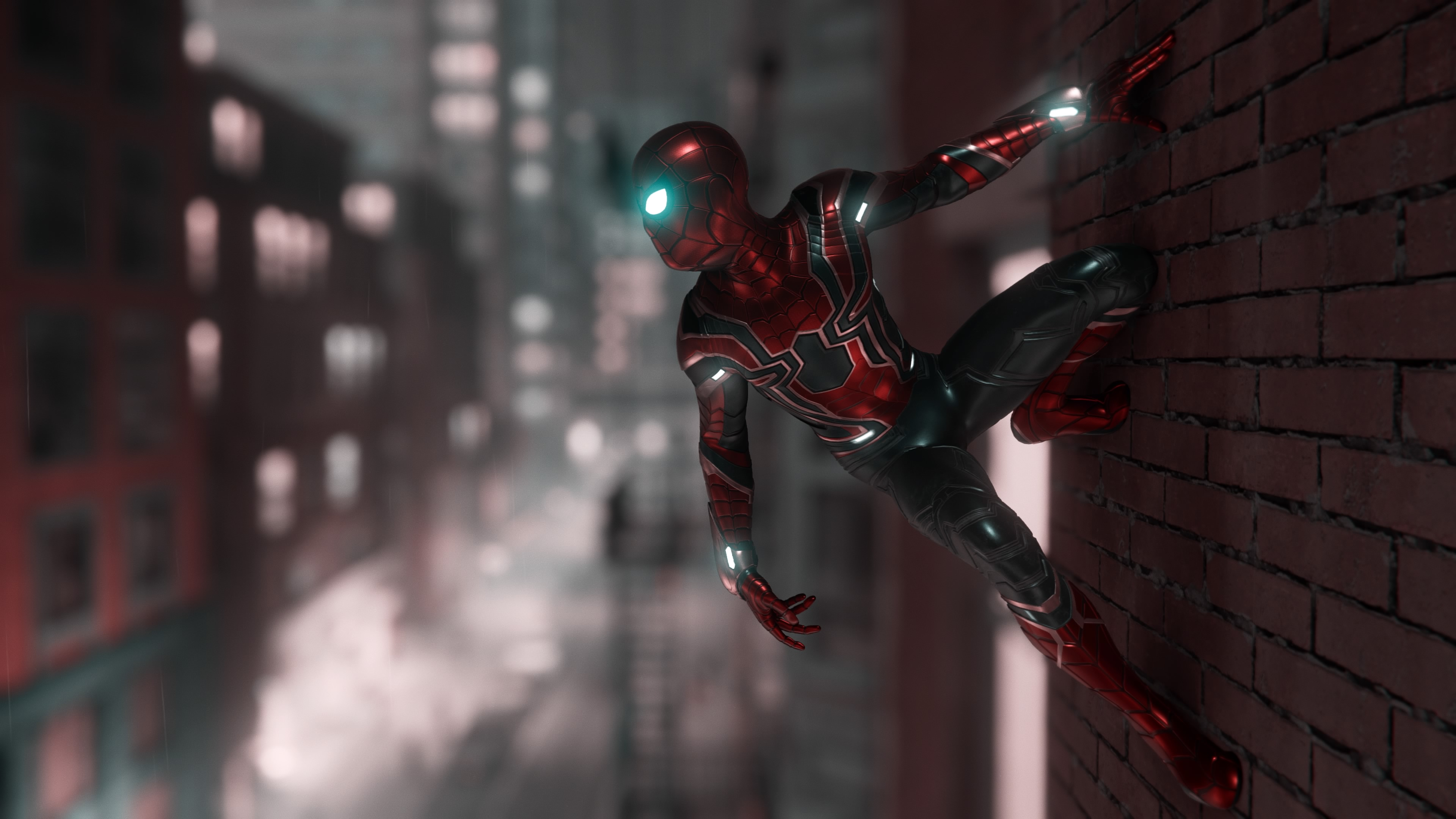 1360x768 marvel spiderman ps4 4k laptop hd hd 4k wallpapers images backgrounds photos and - Marvel hd wallpapers 4k ...