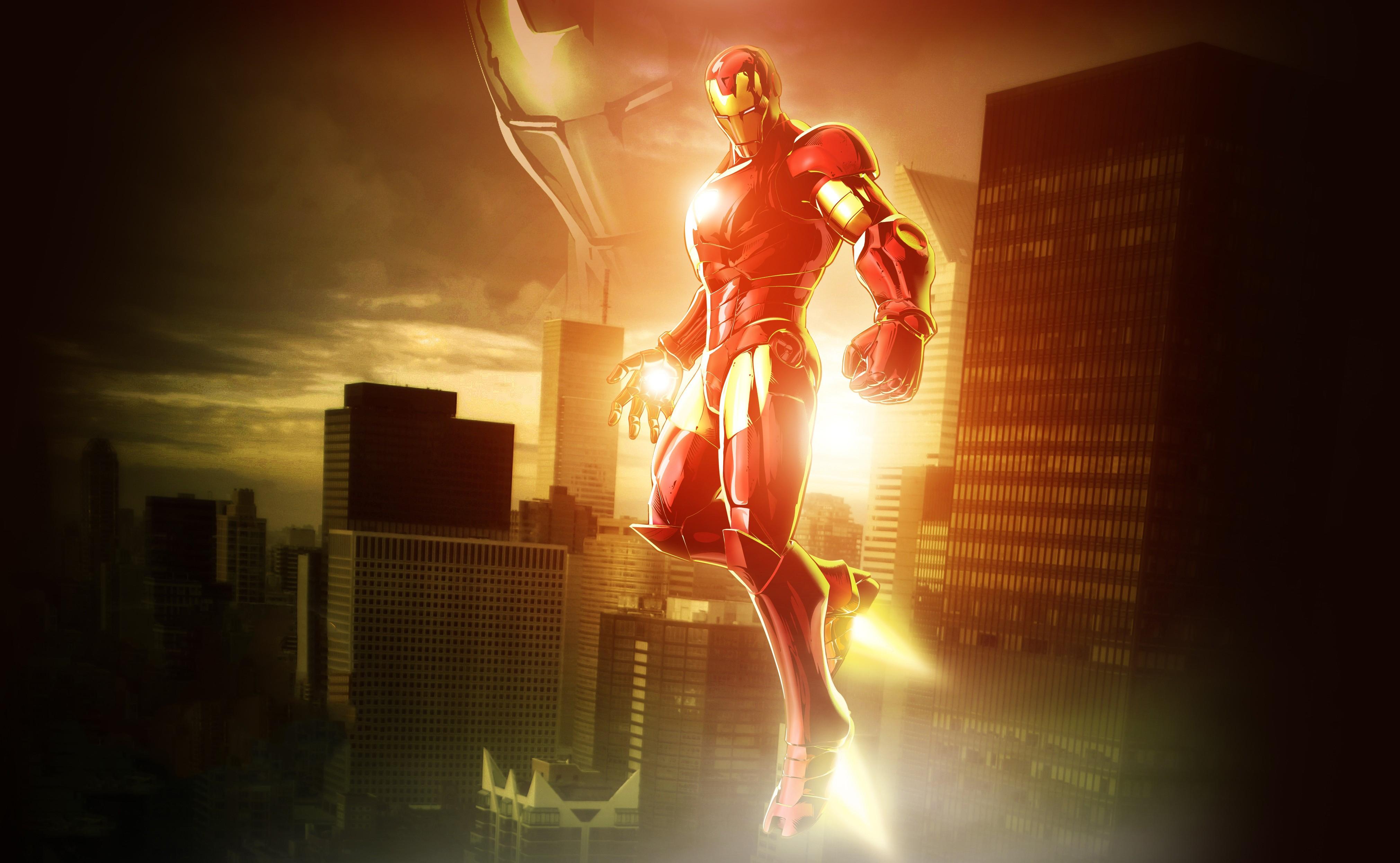 Iron Man 3 Hd Wallpapers High Resolution: 1366x768 Marvel Vs Capcom 3 Iron Man 4k 1366x768