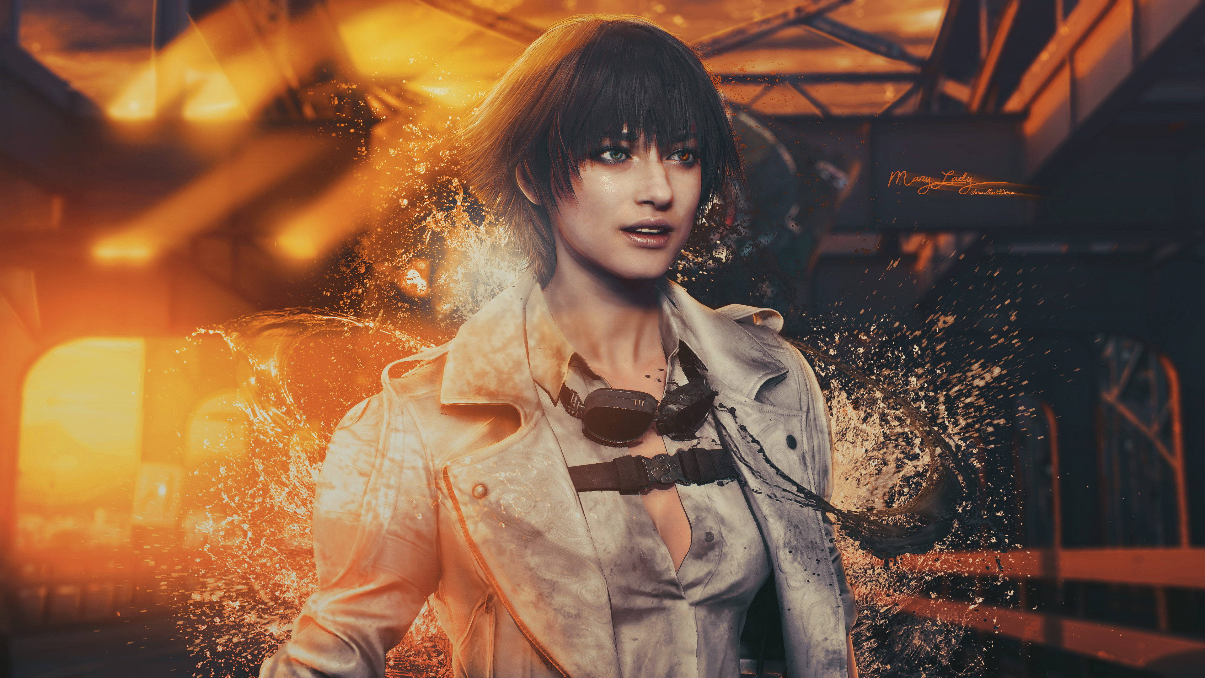 Mary Lady Devil May Cry 4k, HD Games, 4k Wallpapers