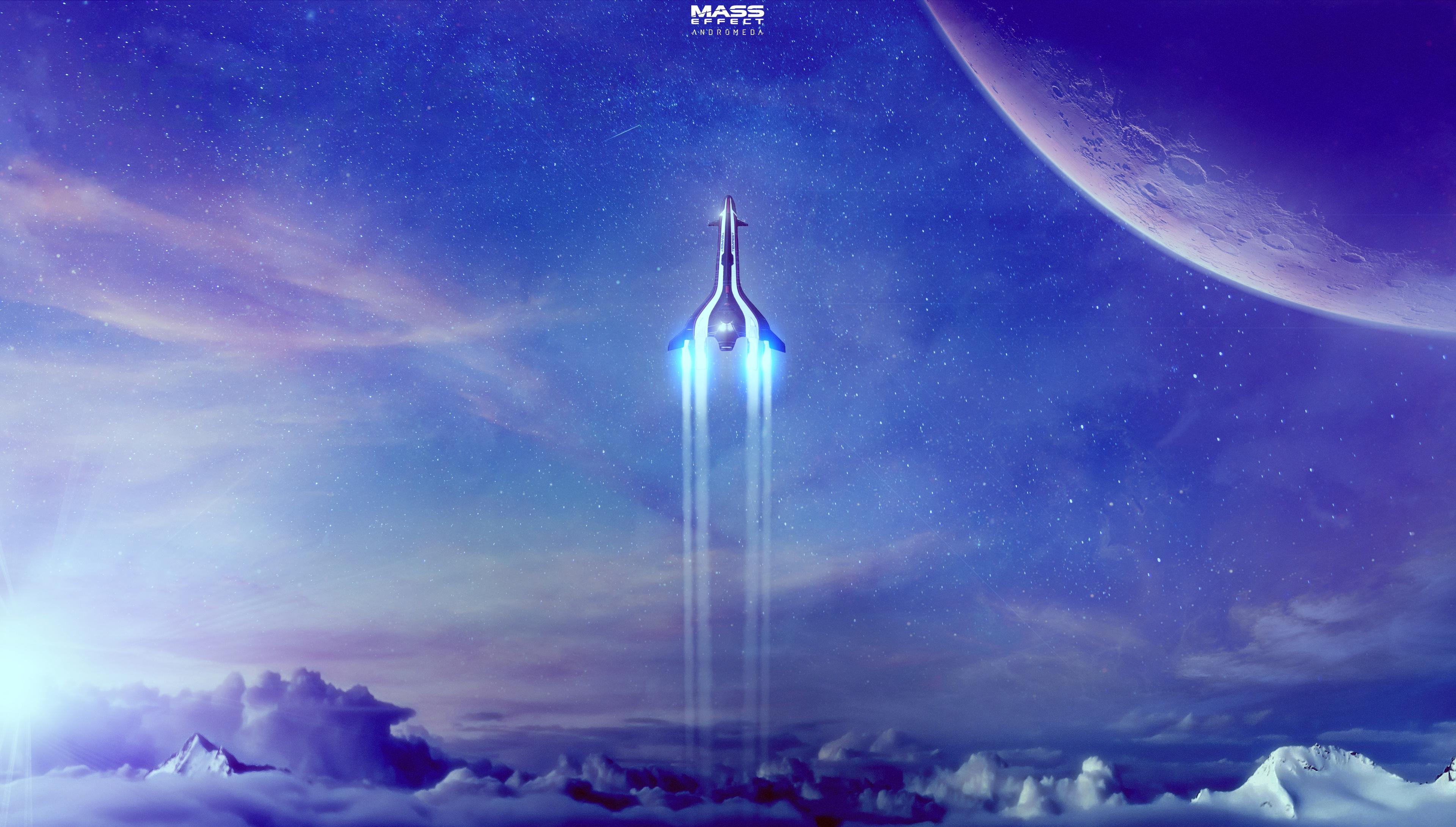 Mass Effect Andromeda 4k Artwork, HD Games, 4k Wallpapers