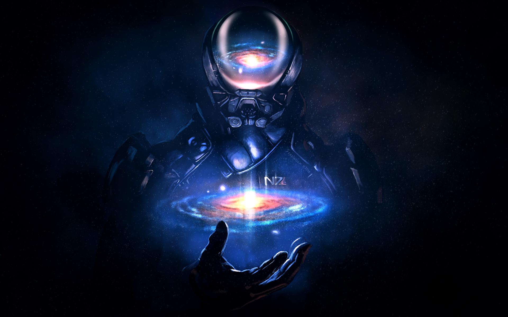 Mass Effect Andromeda Wallpaper Iphone: 1080x1920 Mass Effect Andromeda Artwork Iphone 7,6s,6 Plus