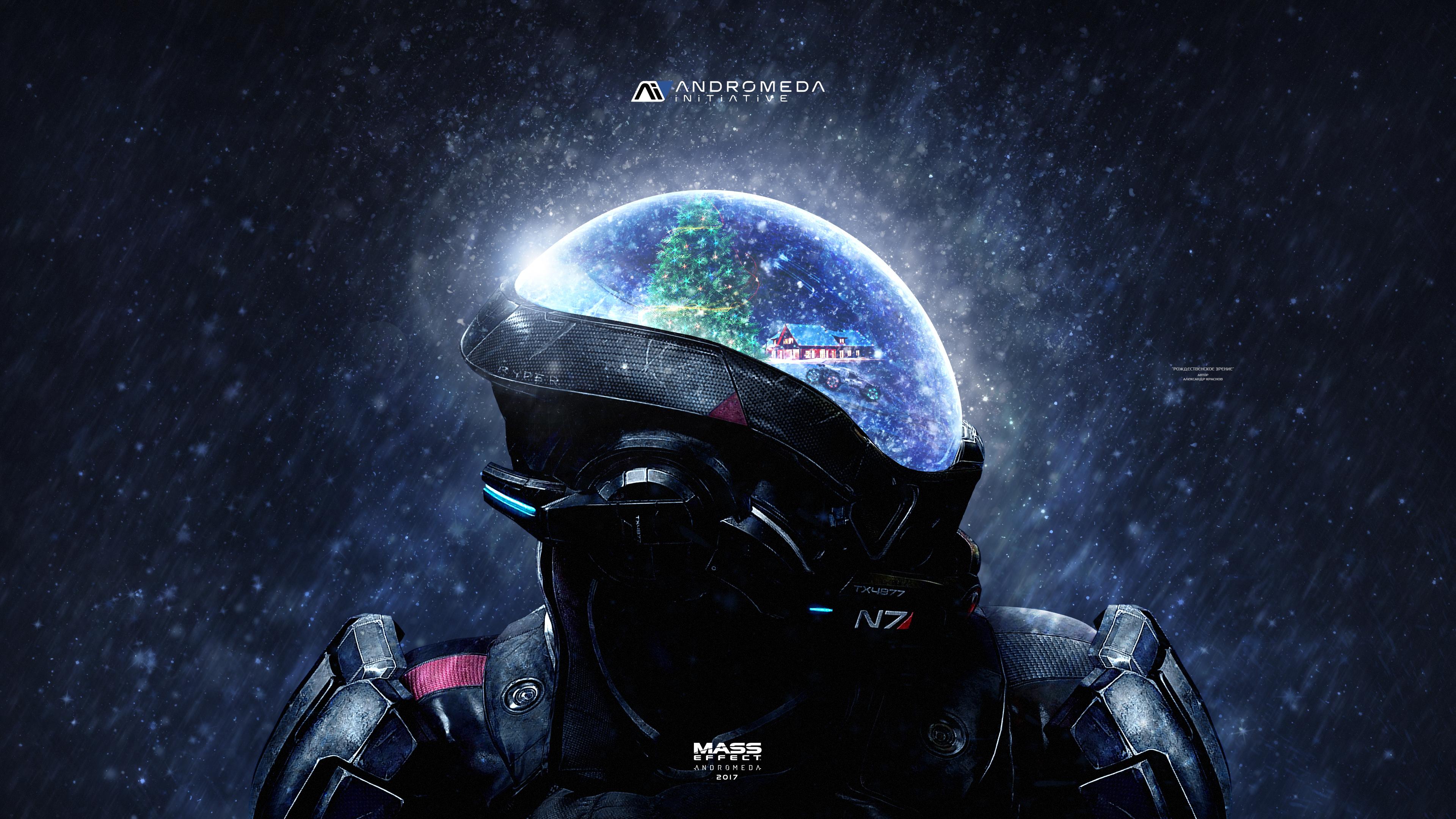 Mass Effect Andromeda Christmas 4k Hd Games 4k Wallpapers