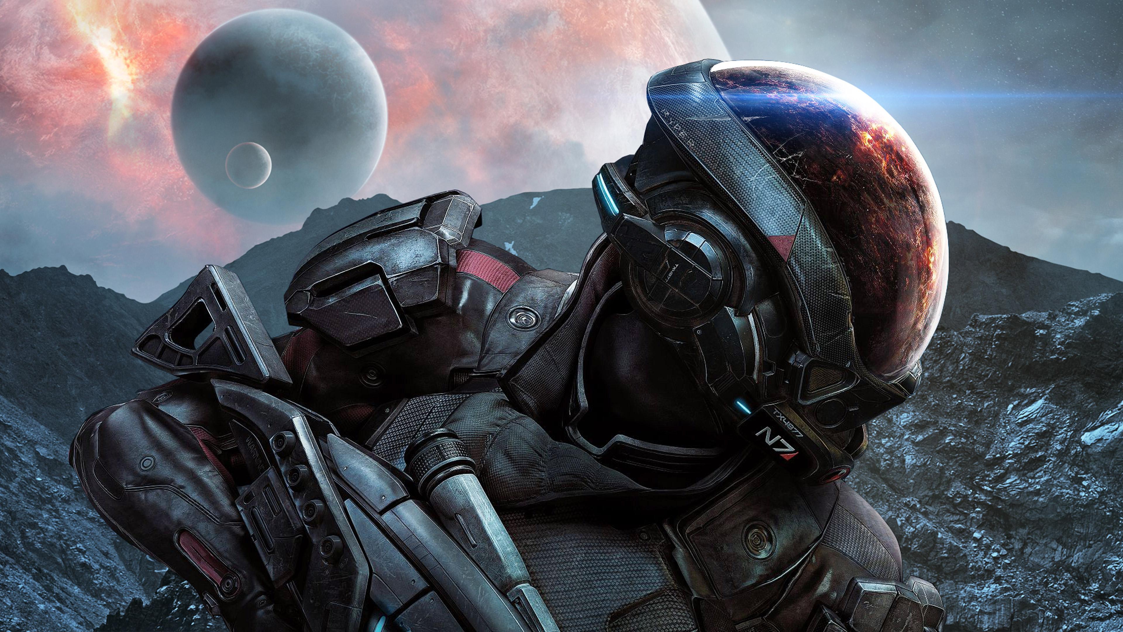 Mass Effect Andromeda Game 4k, HD Games, 4k Wallpapers