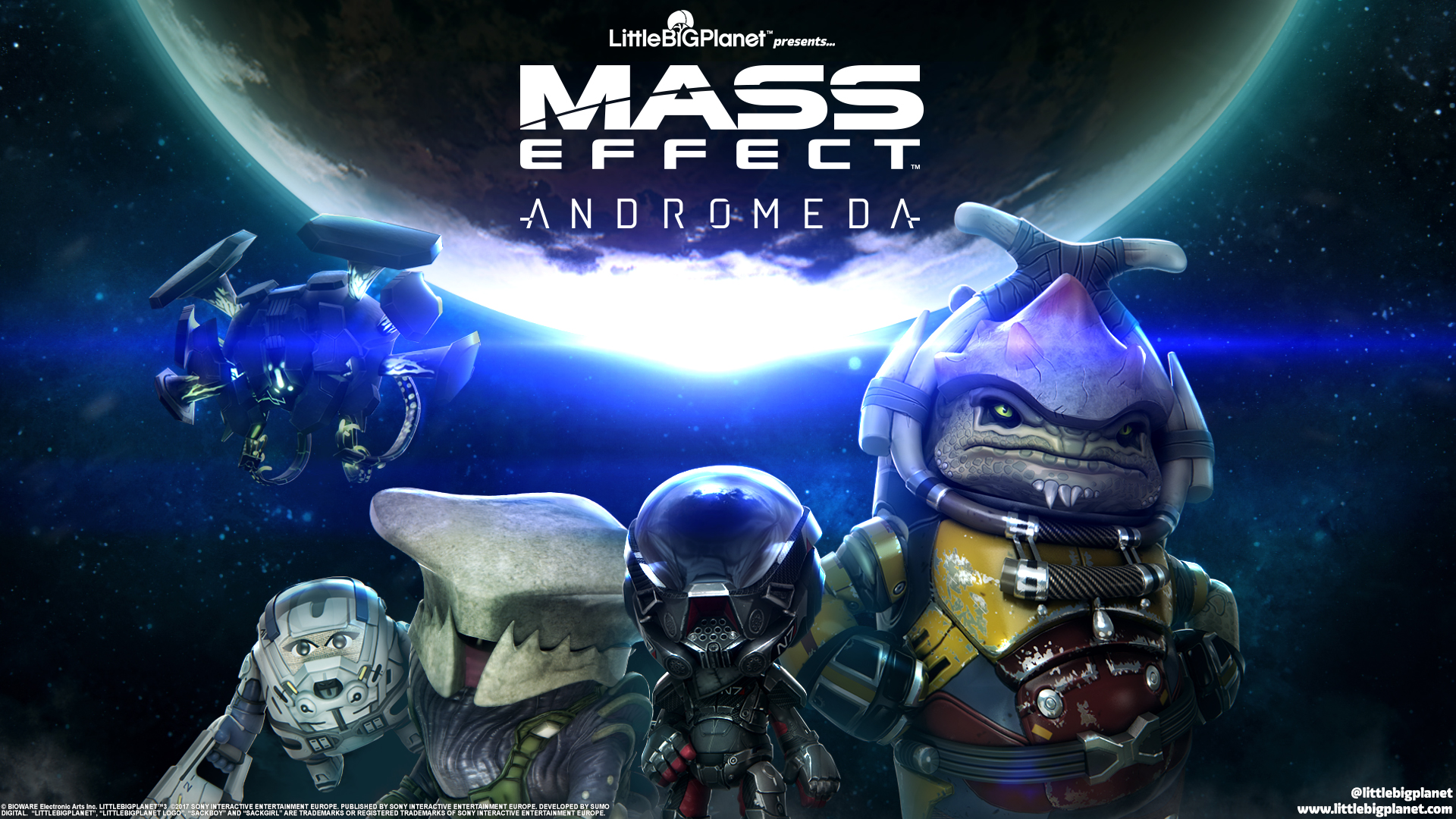 Mass Effect Andromeda Full Hd 3d Wallpapers: Mass Effect Andromeda Little Big Planet 3, HD Games, 4k