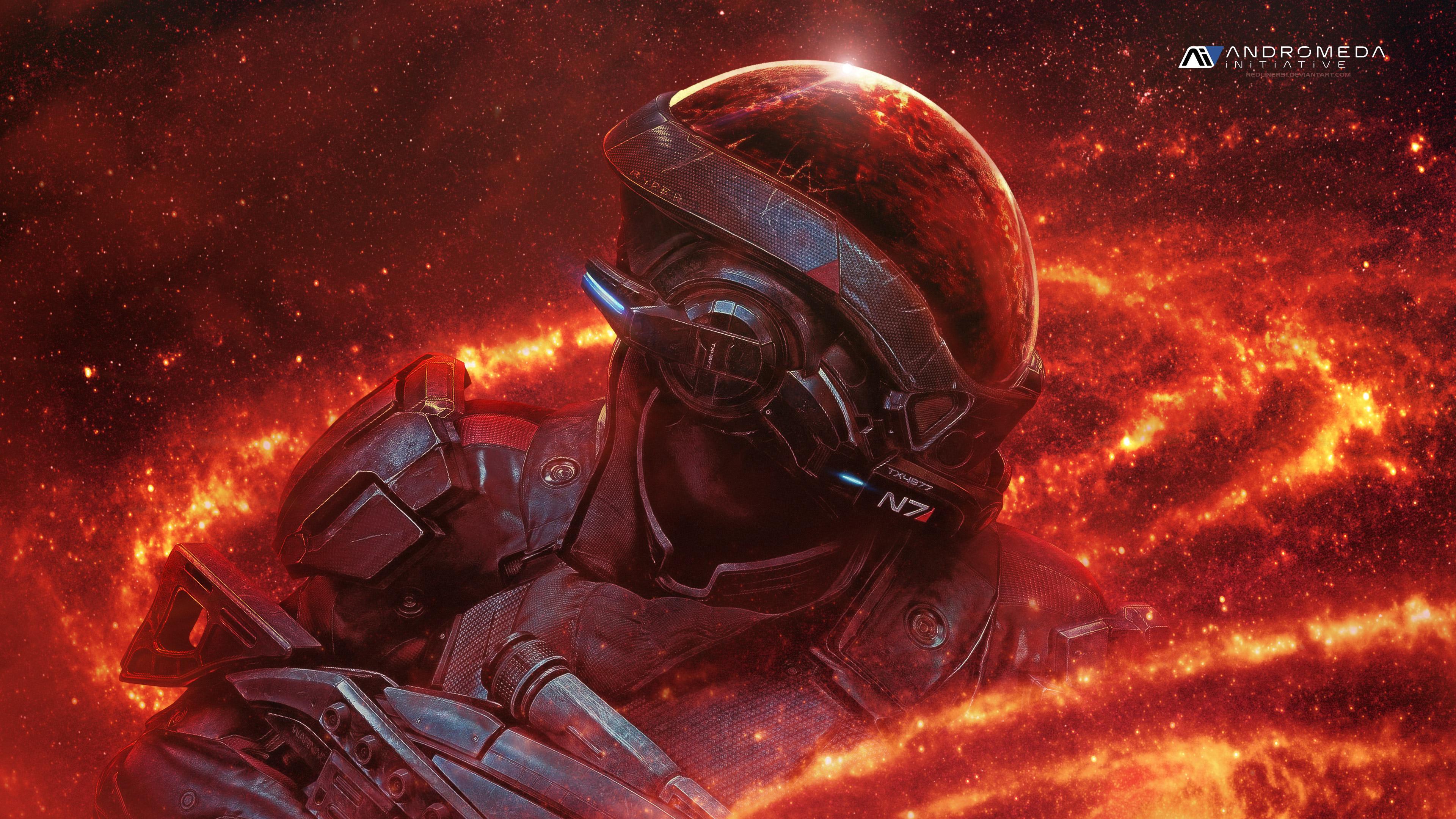 Mass Effect Andromeda Ryder N7 4k Hd Games 4k Wallpapers