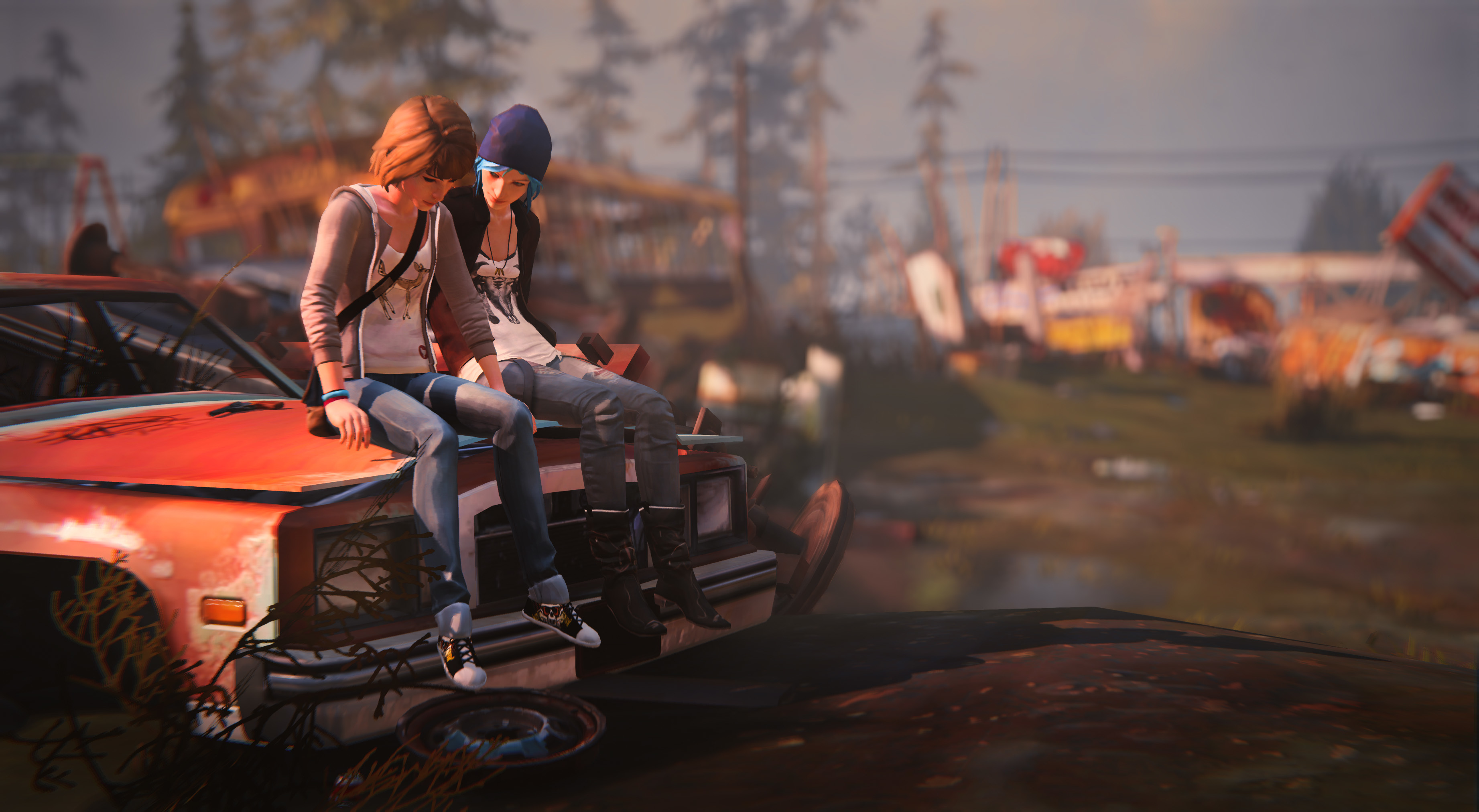 Max And Chloe Life Is Strange Hd Games 4k Wallpapers
