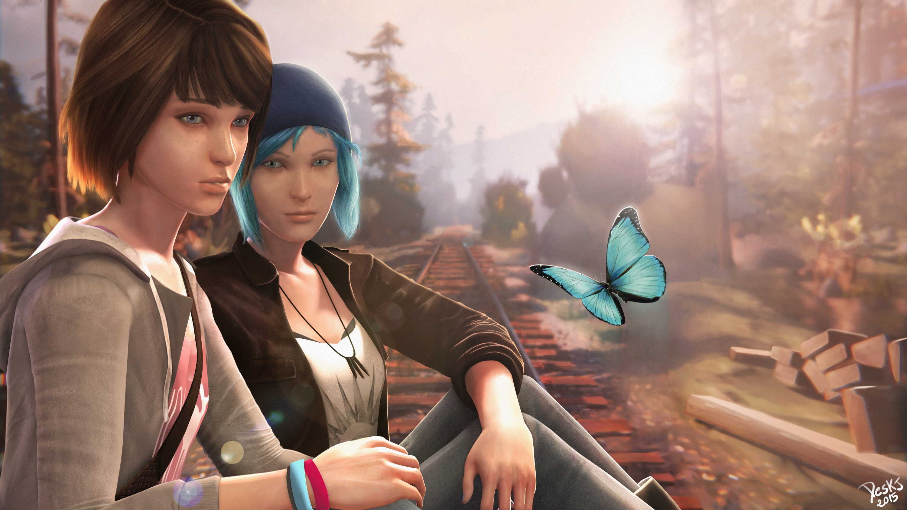Life Is Strange 2 Wallpaper: 1920x1080 Max Caulfield Life Is Strange 2 Laptop Full HD