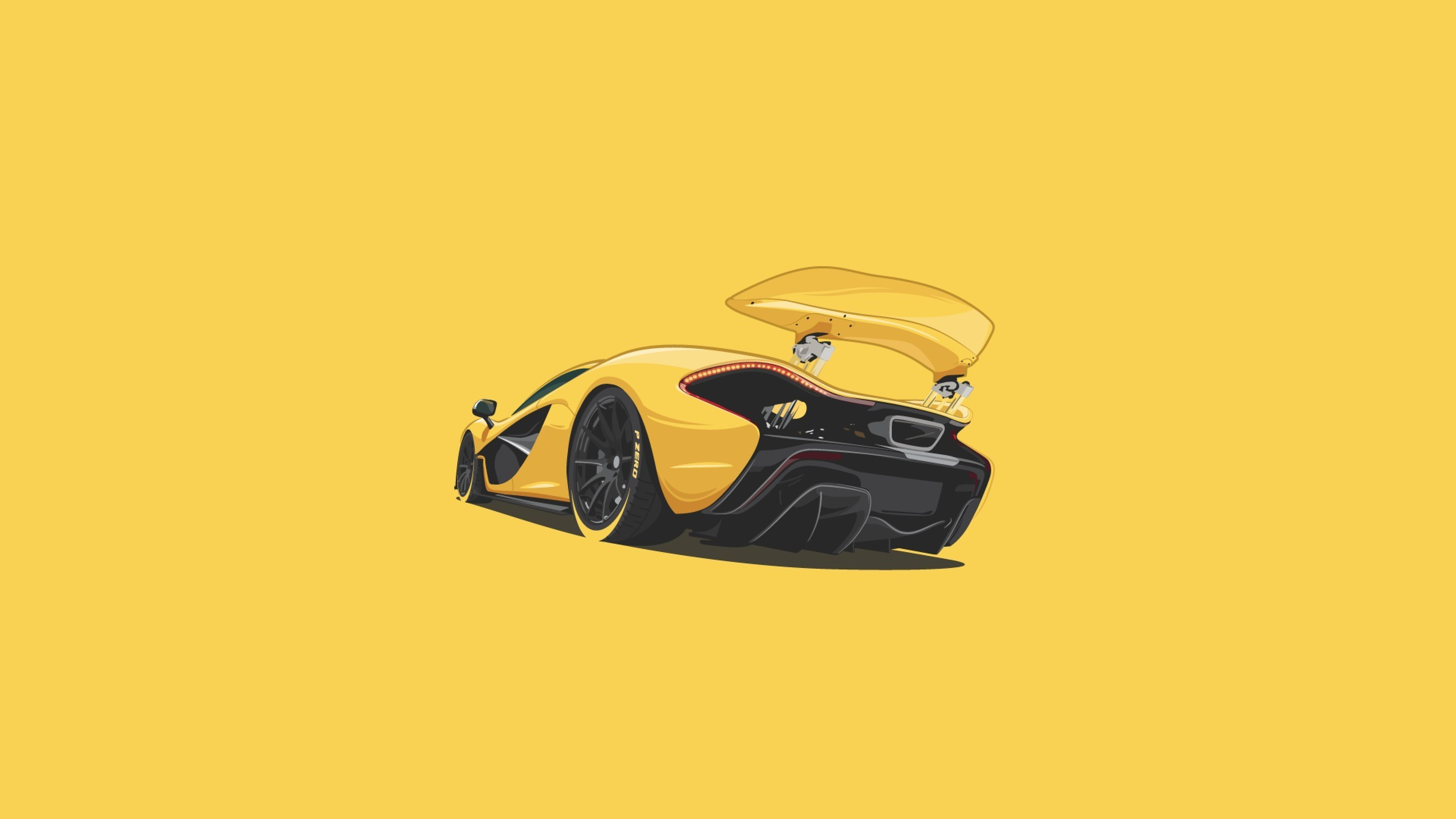 Mclaren P1 Minimalism, HD Artist, 4k Wallpapers, Images, Backgrounds, Photos and Pictures
