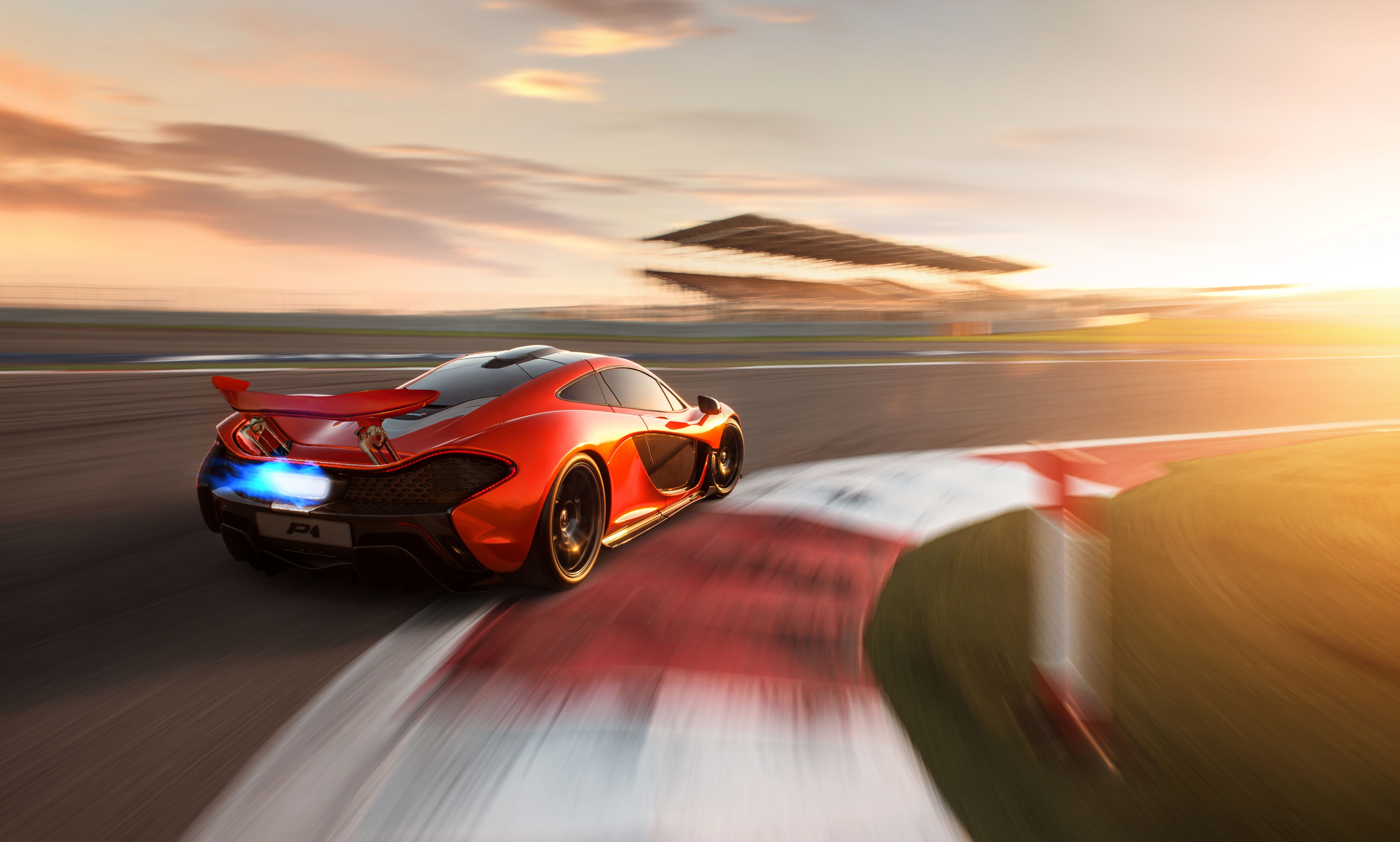 Mclaren P1 On Track 8k Hd Cars 4k Wallpapers Images