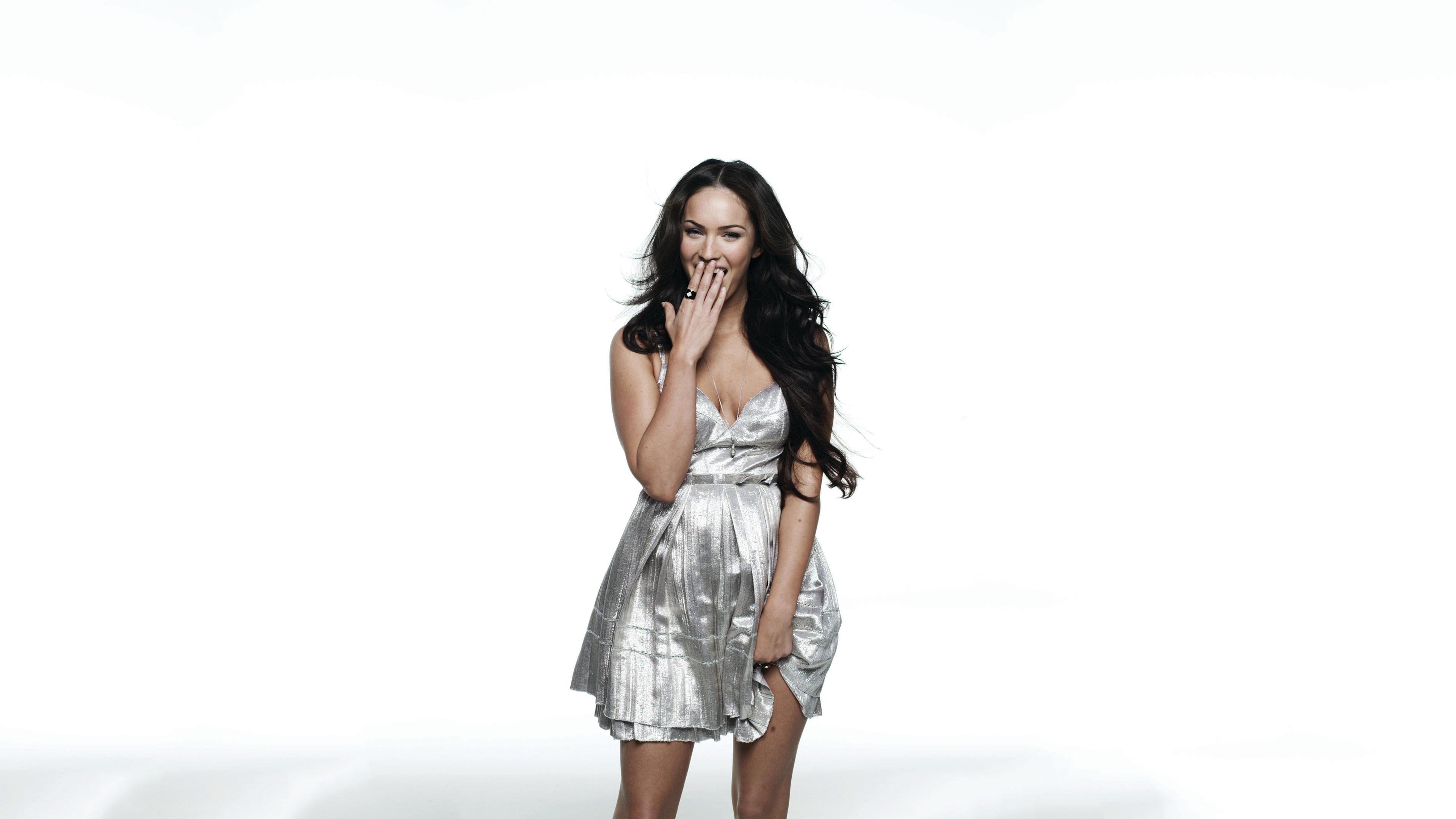 Megan Fox Wallpaper Hd Fantasy: Megan Fox Smiling 4k, HD Celebrities, 4k Wallpapers