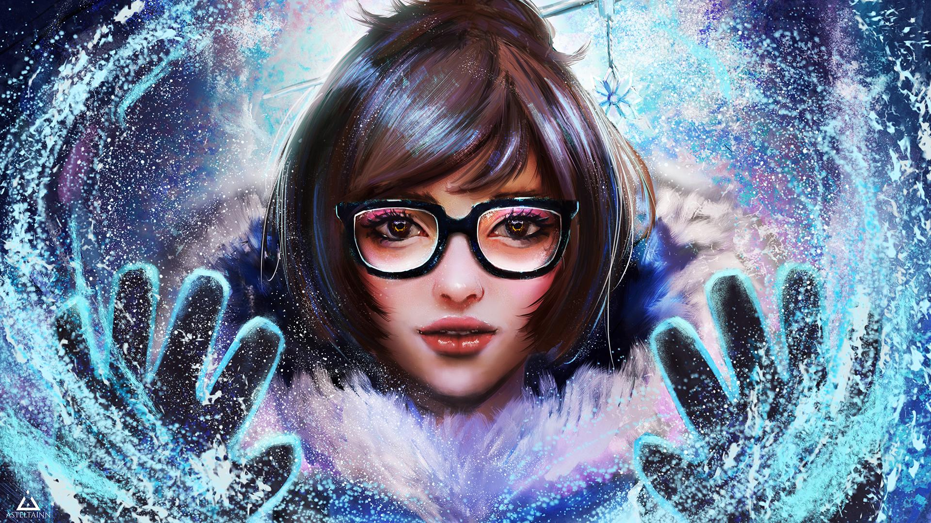 Mei overwatch hd games 4k wallpapers images - Mei wallpaper ...