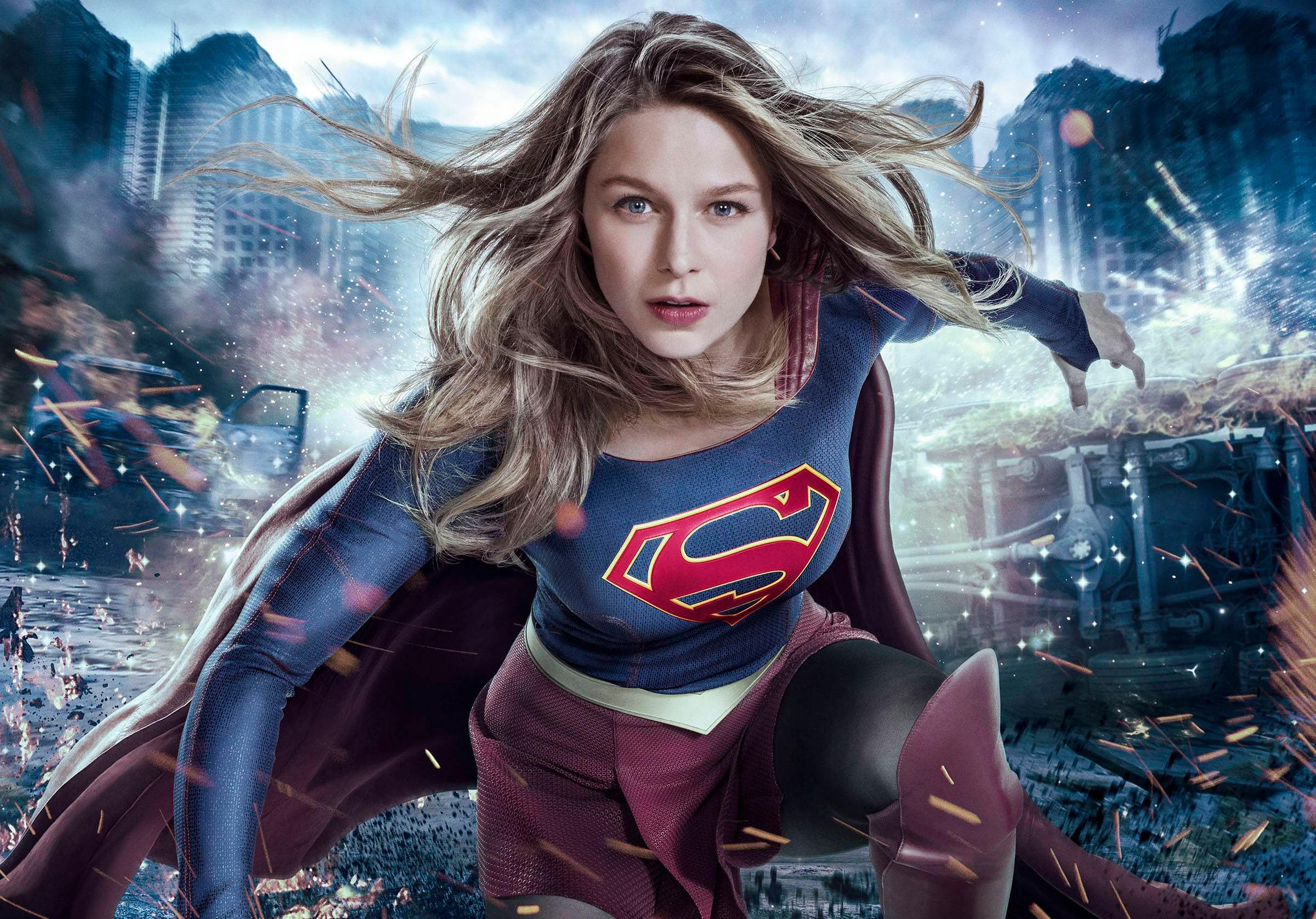 Melissa Benoist Supergirl 2017 Tv Series Hd Tv Shows 4k