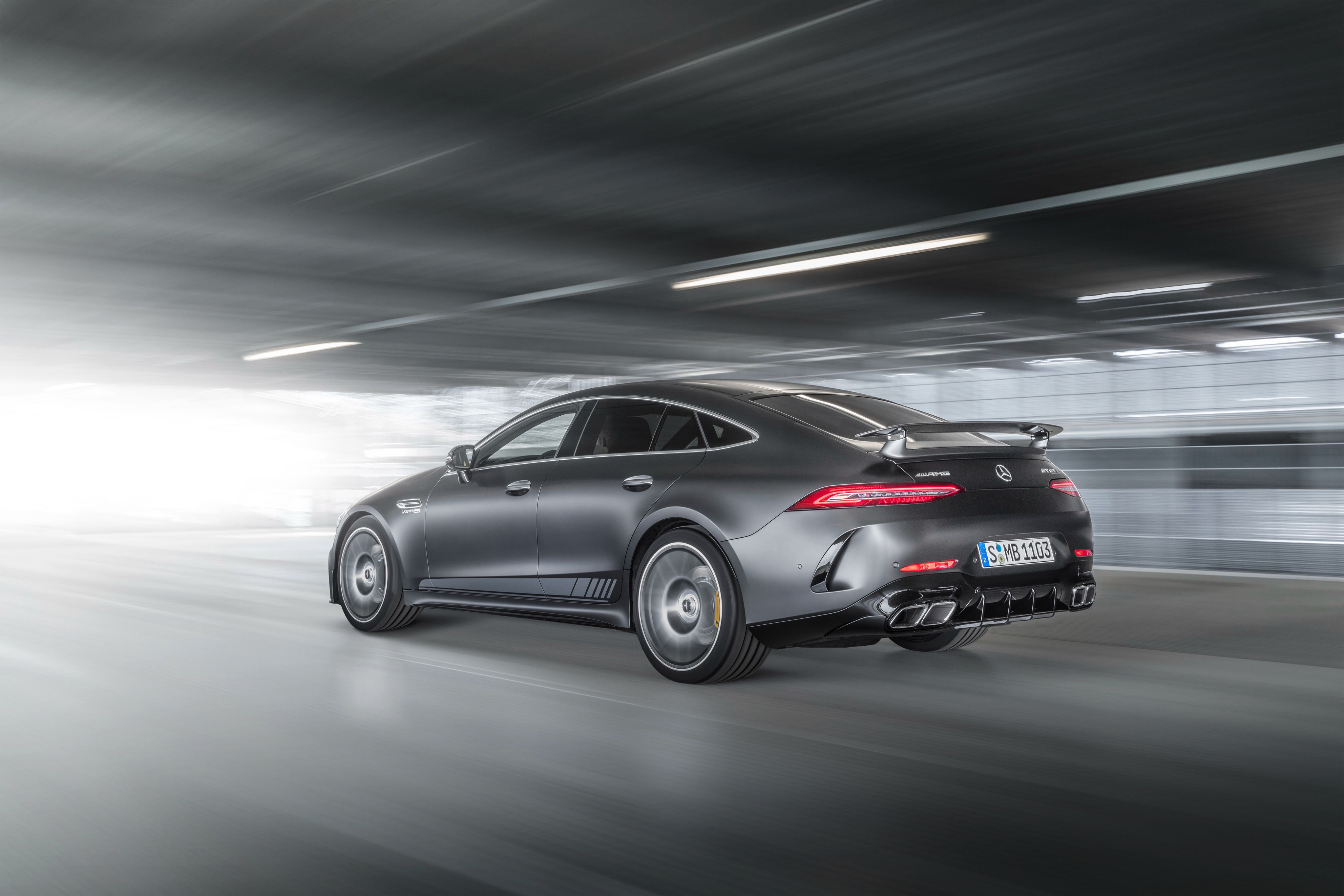 Mercedes AMG GT 63 S 4MATIC 4 Door Coupe Edition 1 Rear ...