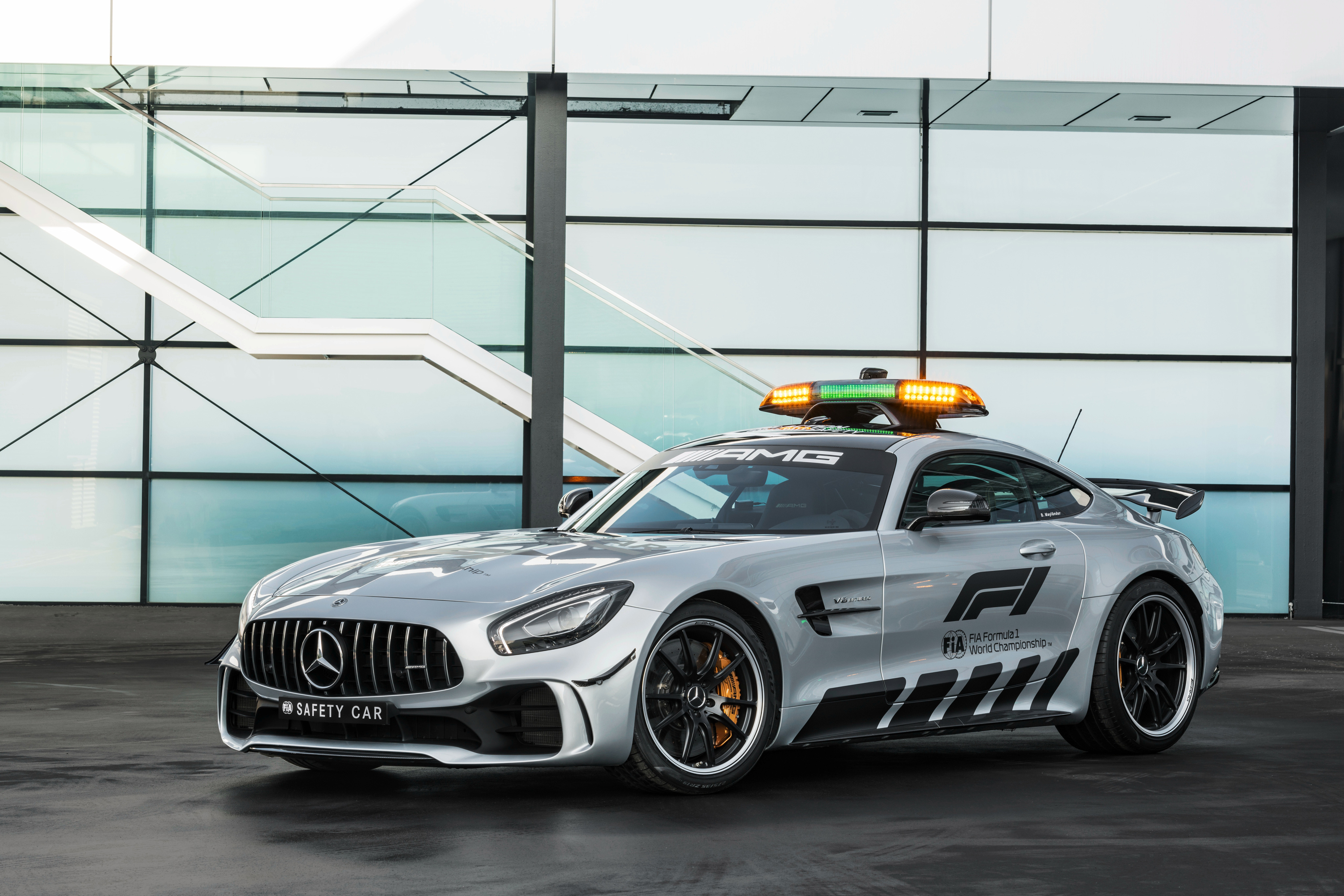 Mercedes Amg Gt R F1 Safety Car 2018 Hd Cars 4k Wallpapers Images