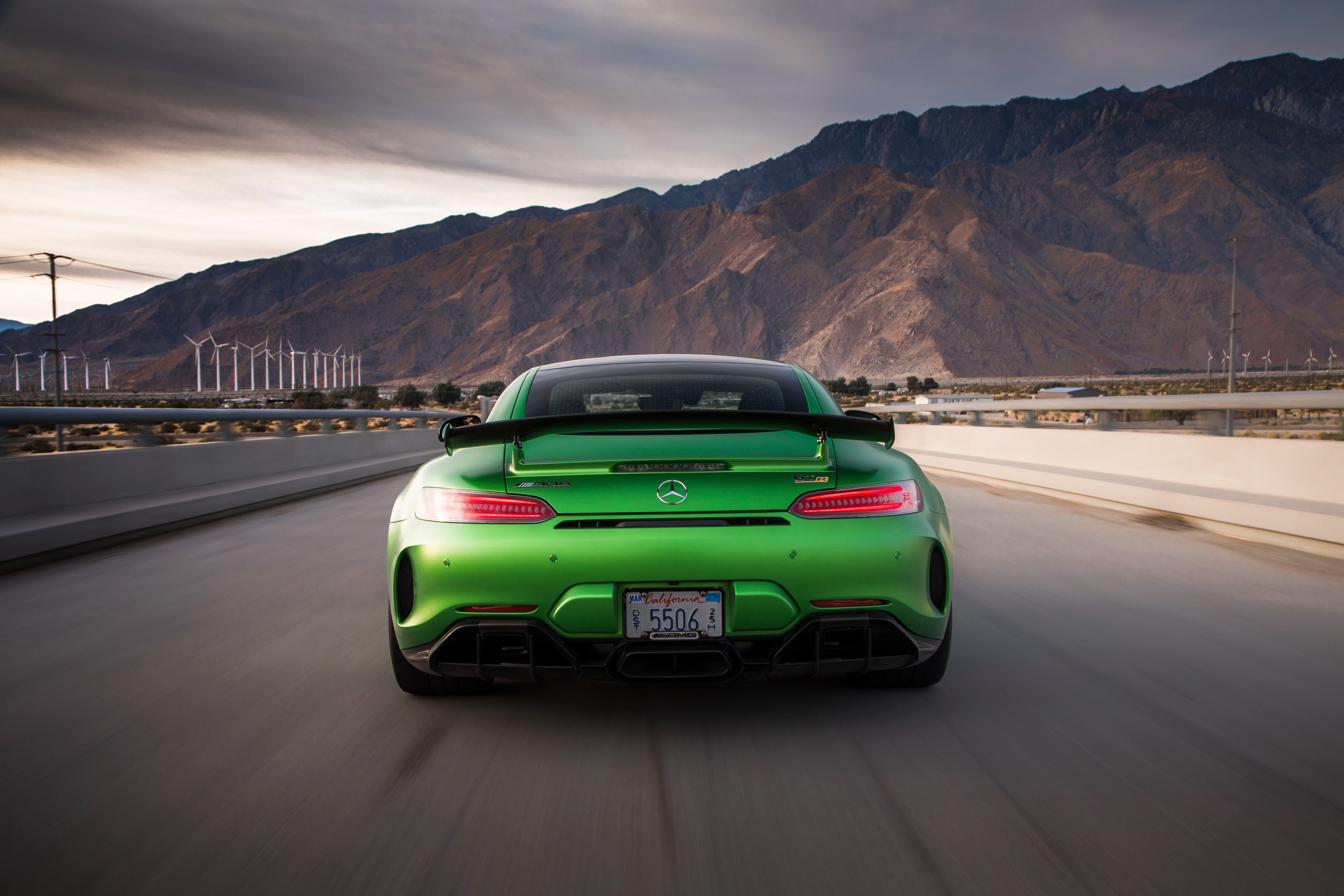 Mercedes Amg Gtr Rear, HD Cars, 4k Wallpapers, Images ...