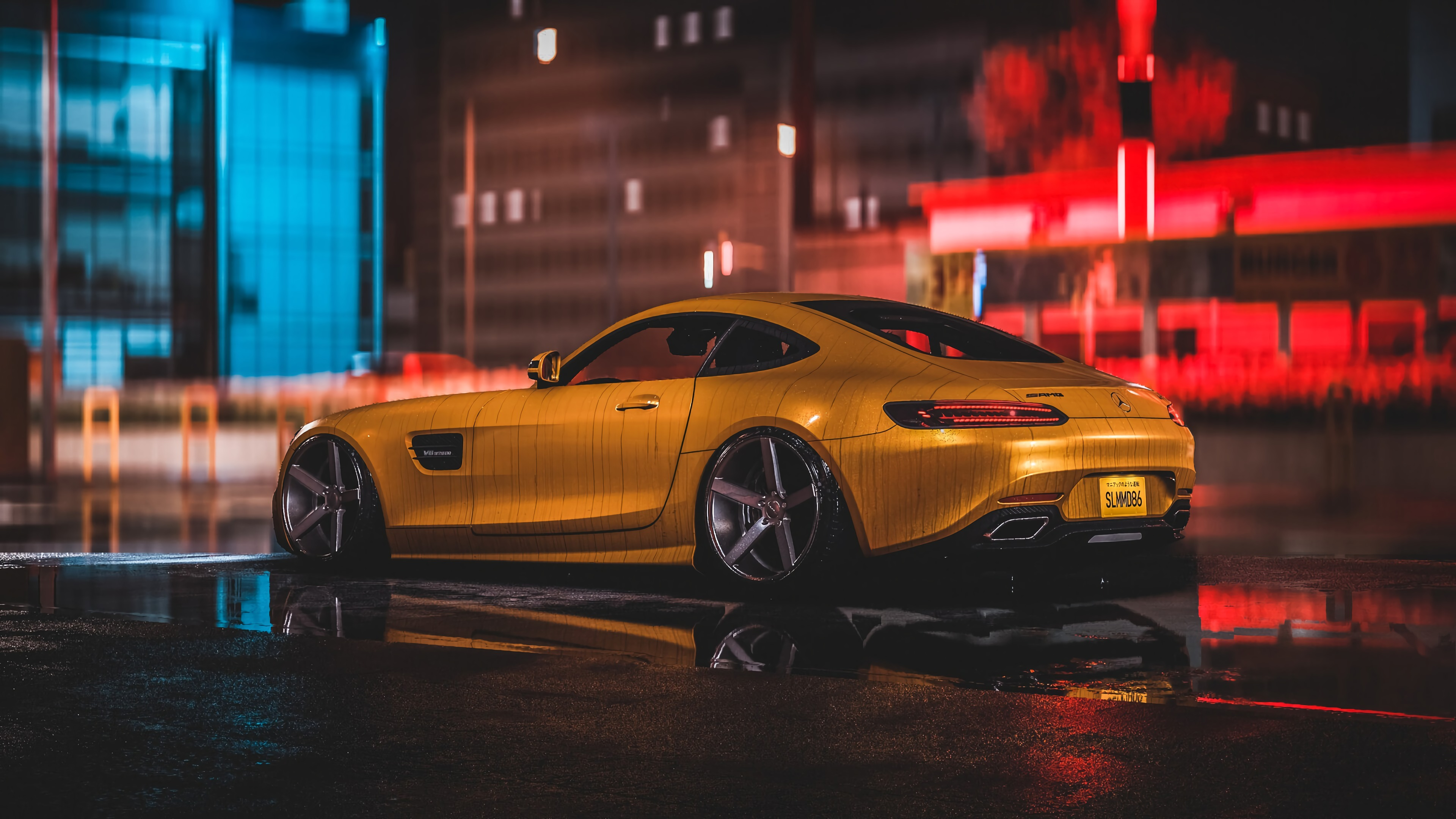 Mercedes Amg Yellow 4k, HD Cars, 4k Wallpapers, Images ...