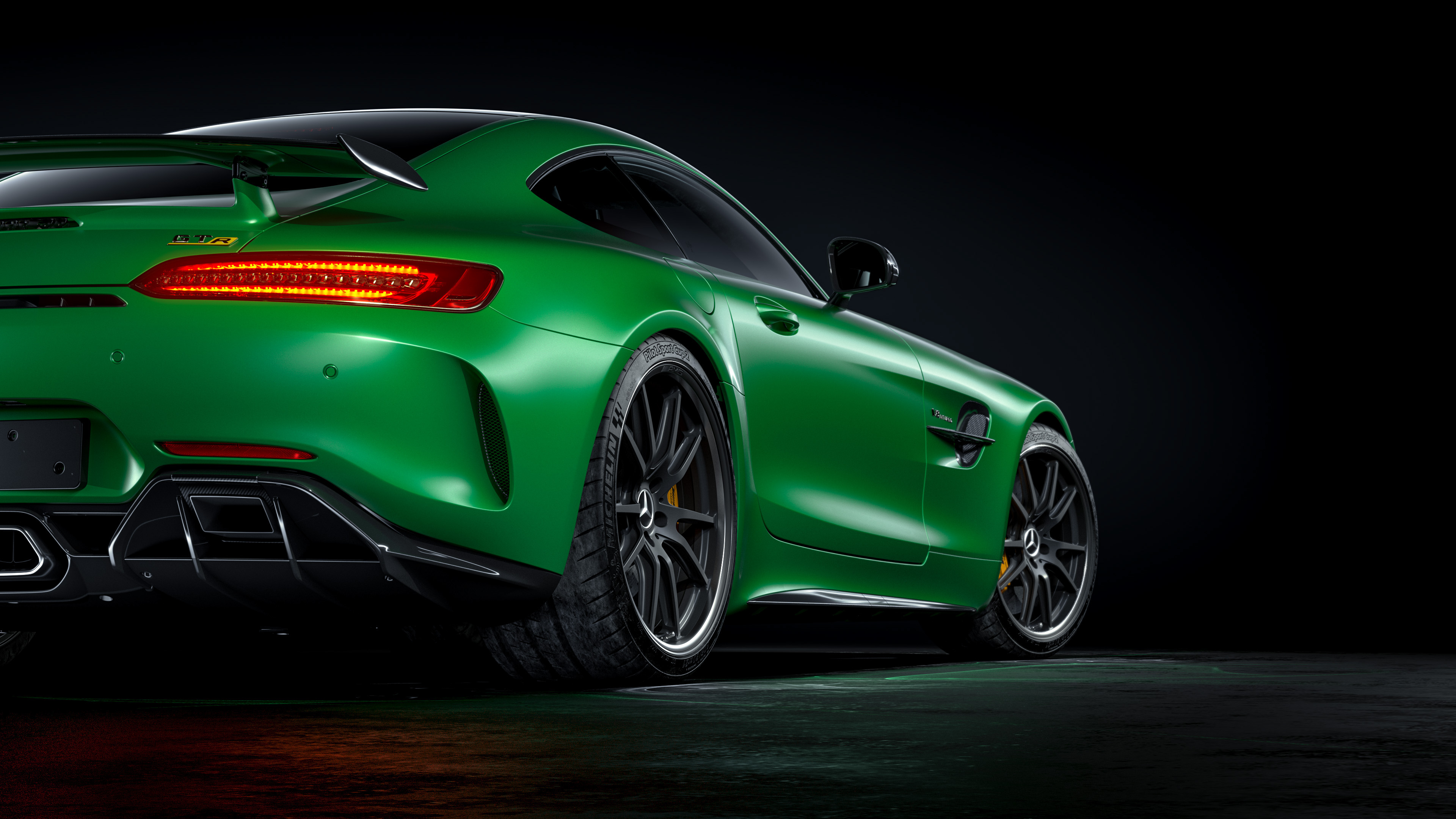 2560x1440 Mercedes Benz Amg Gtr Rear 4k 1440p Resolution Hd