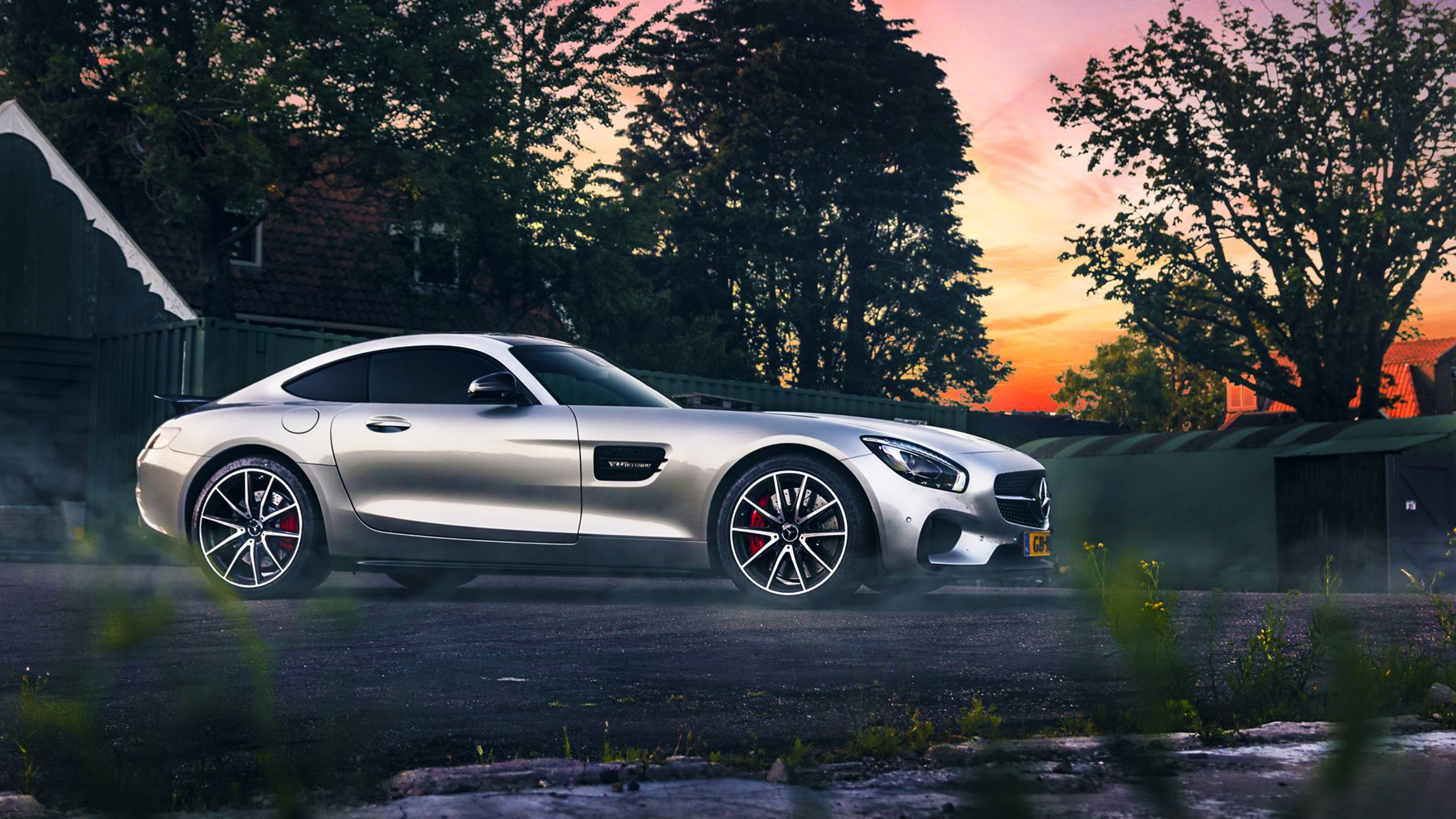 mercedes benz amg silver, hd cars, 4k wallpapers, images