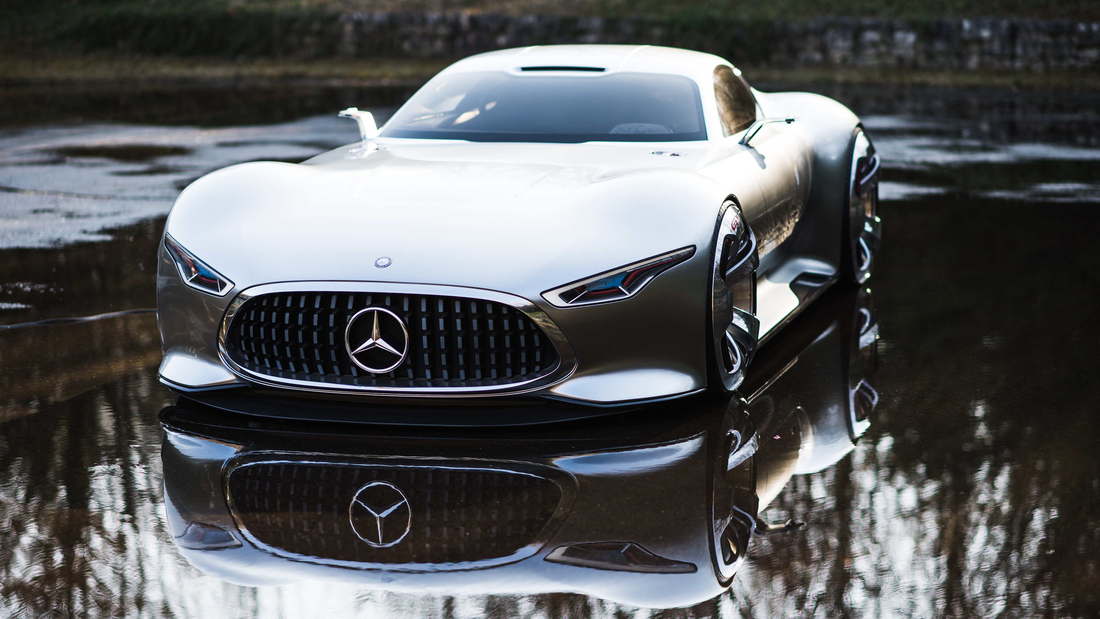Mercedes Benz AMG Vision Gran Turismo Front, HD Cars, 4k ...