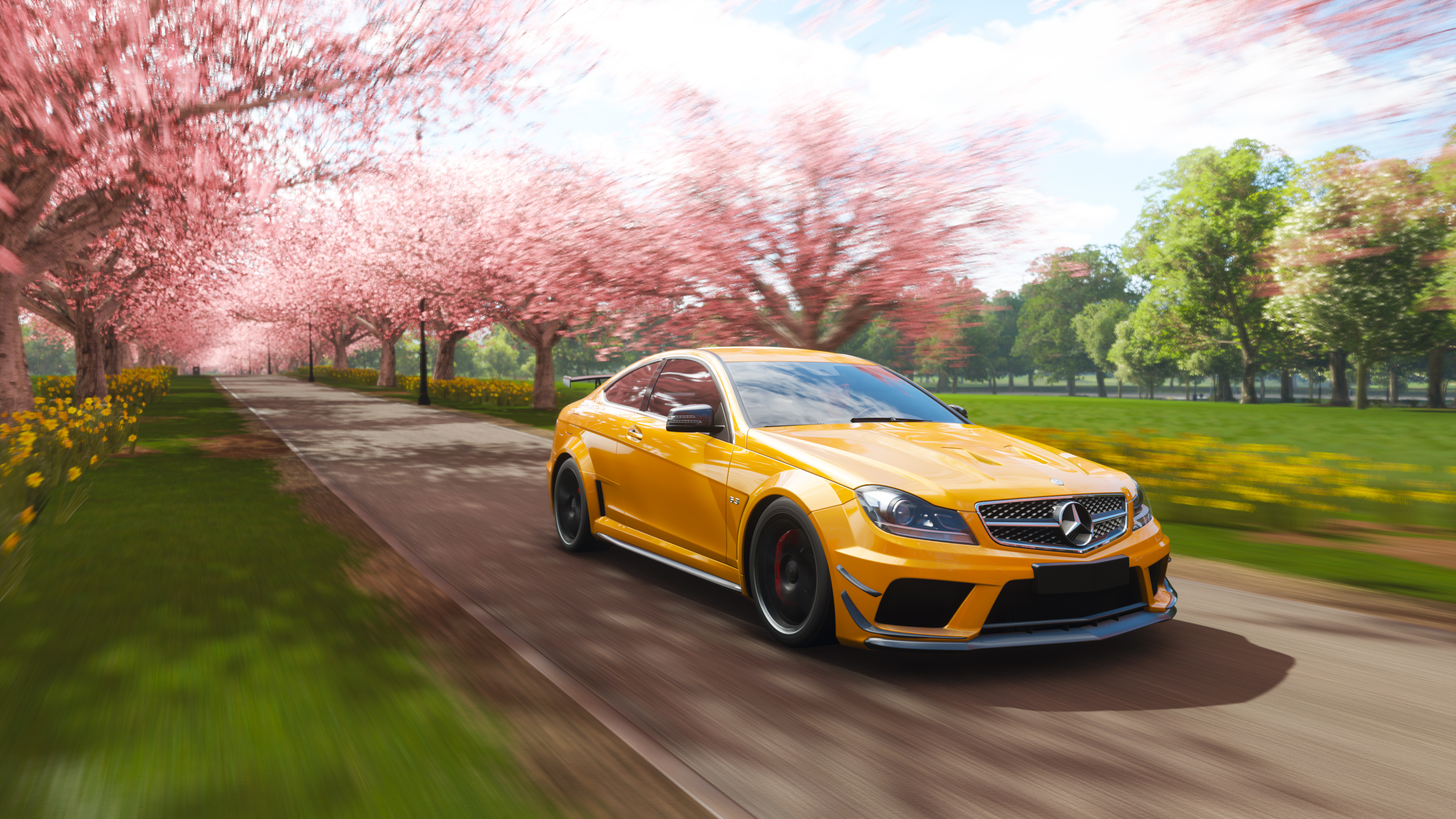 Mercedes Benz C63 Amg Coupe Forza Horizon 4 4k Hd Games 4k