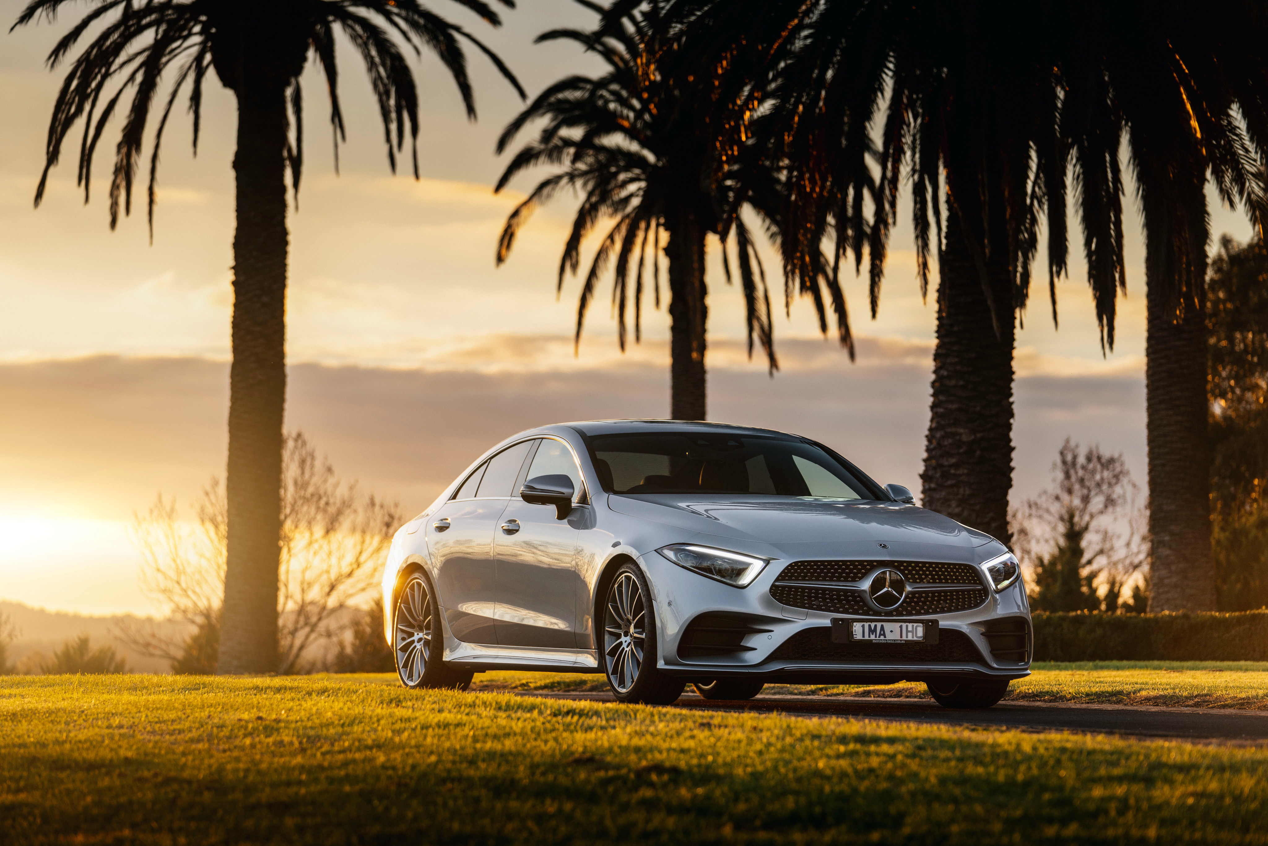 Mercedes Benz CLS 450 4MATIC AMG Line 2018 HD Cars 4k Wallpapers