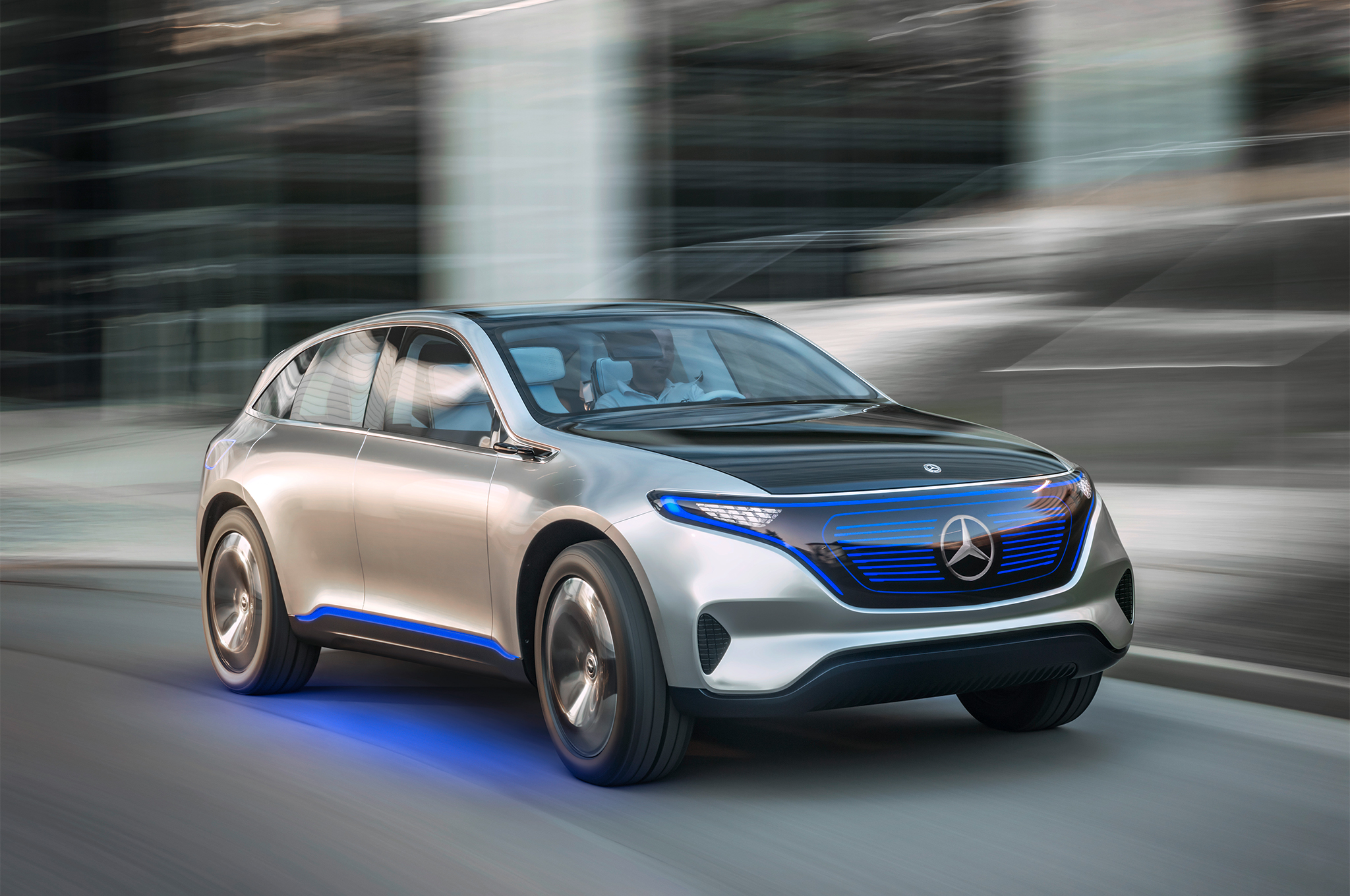 Mercedes Benz EQ Electric Car
