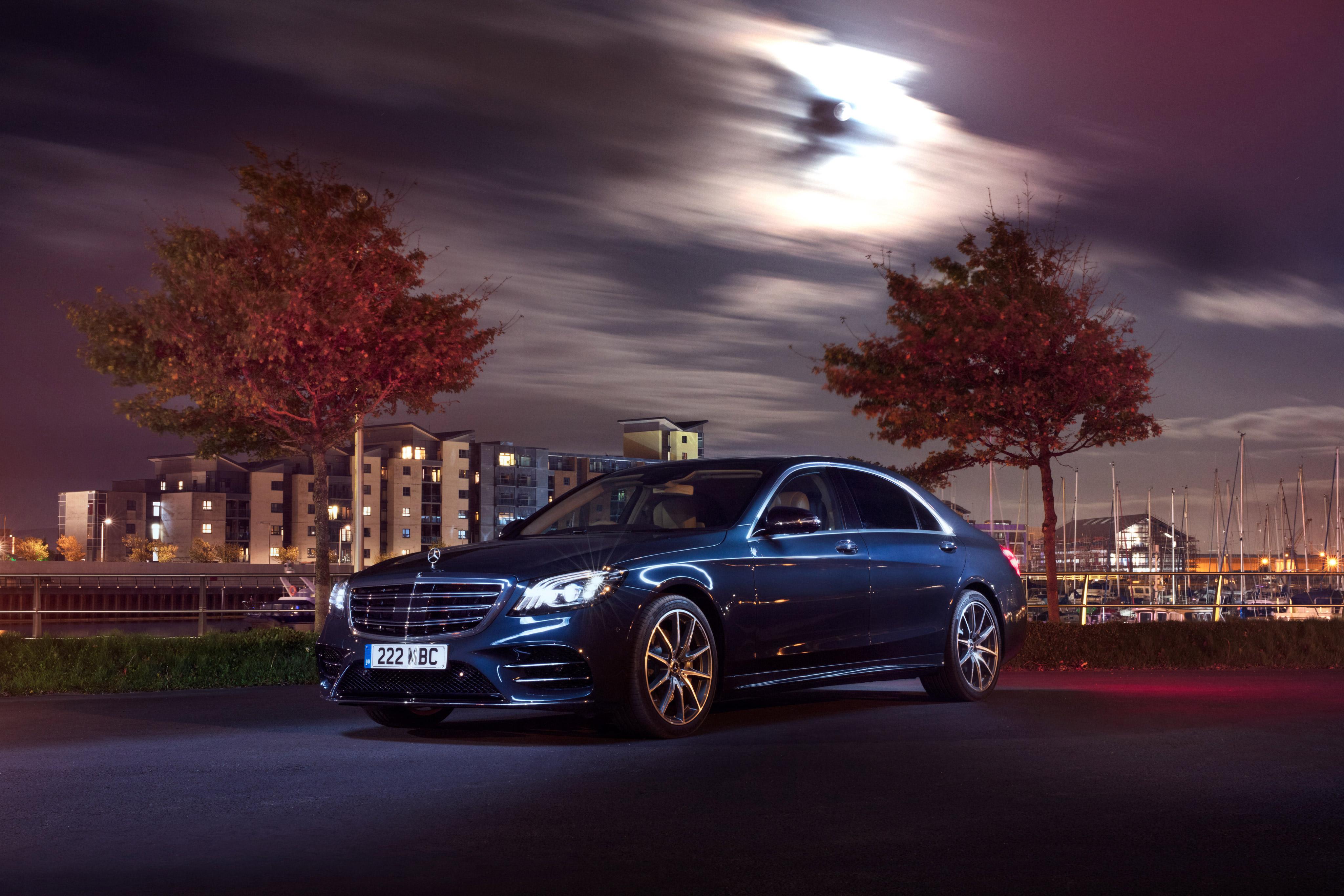 Pack De 55 Wallpapers De Carros Hd: Mercedes Benz S 350 D Lang AMG Line 2017, HD Cars, 4k