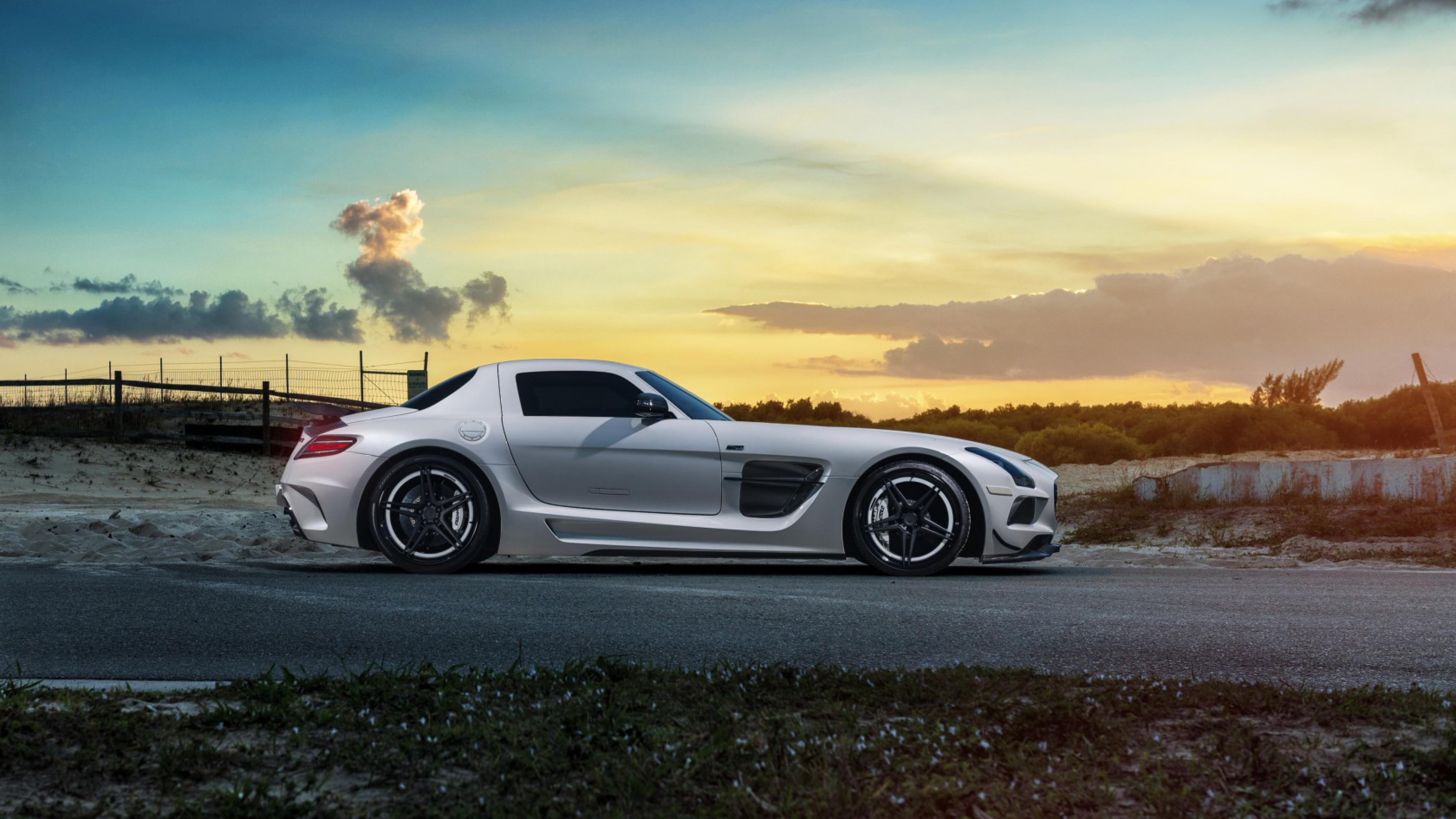 Mercedes Sls Black, HD Cars, 4k Wallpapers, Images ...