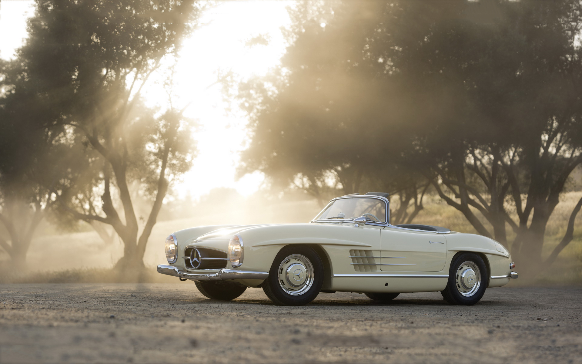 Merecedes 300sl classic hd cars 4k wallpapers images for Vintage mercedes benz