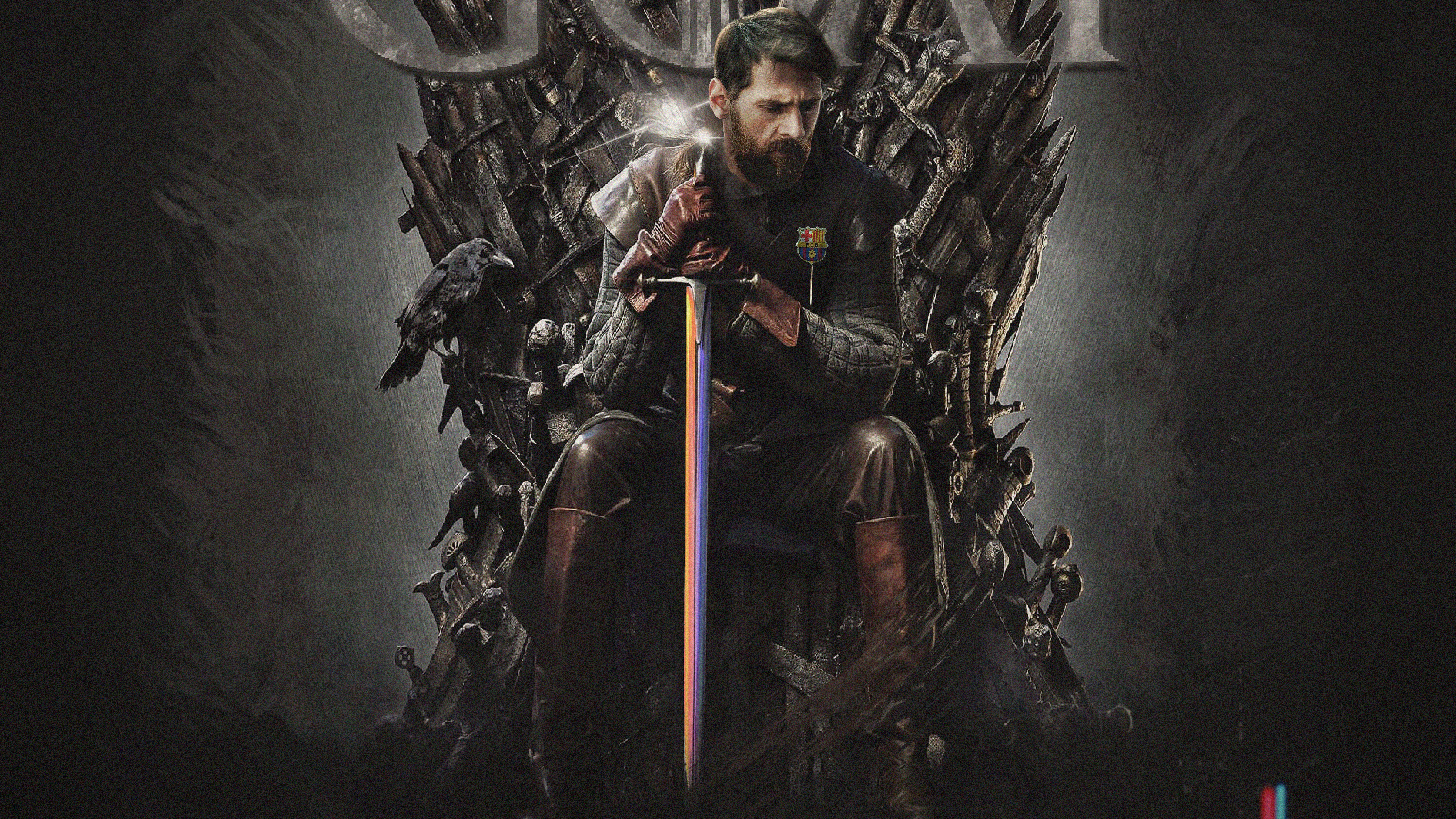 Messi Game Of Thrones Hd Sports 4k Wallpapers Images